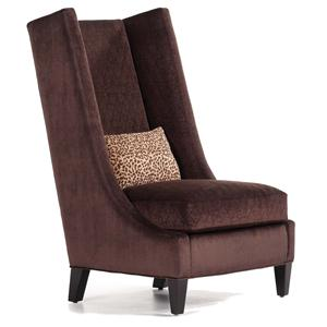 Jessica Charles Fine Upholstered Accents Redmond Wing Chair