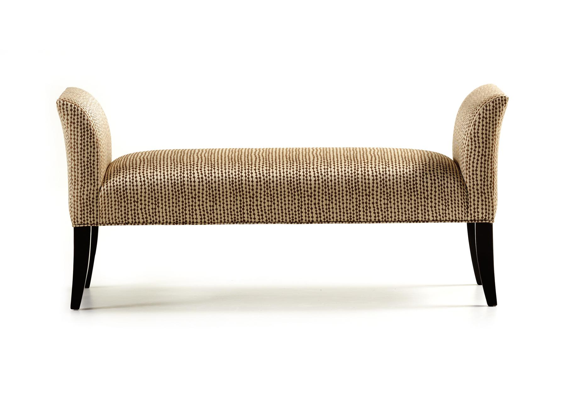 Fine Upholstered Accents Locke Bench    by Jessica Charles at Alison Craig Home Furnishings