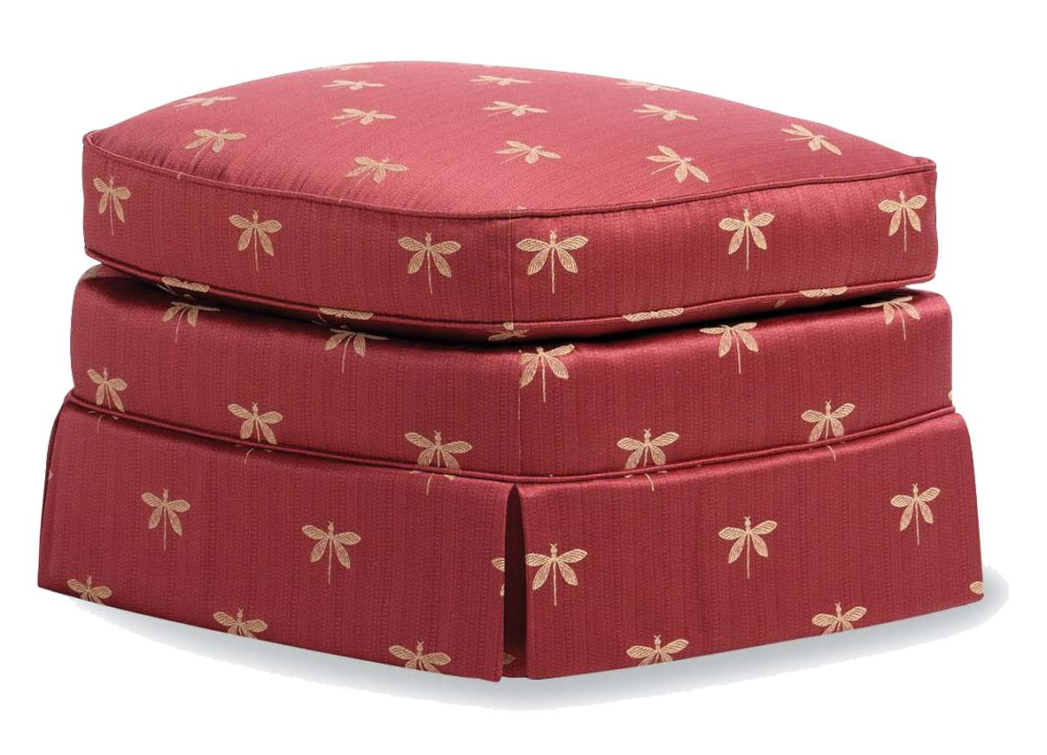 Fine Upholstered Accents Ottoman    by Jessica Charles at Alison Craig Home Furnishings