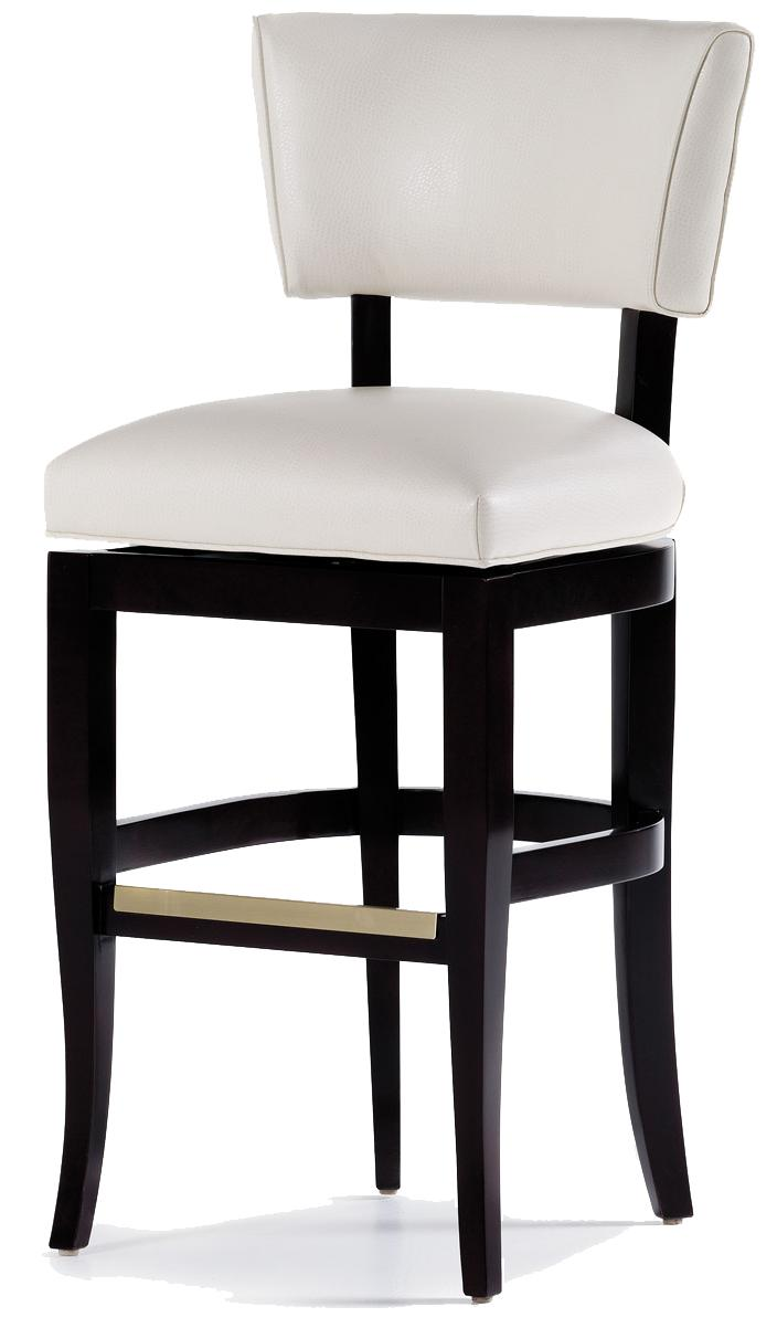 Fine Upholstered Accents Maxine Swivel Barstool by Jessica Charles at Alison Craig Home Furnishings