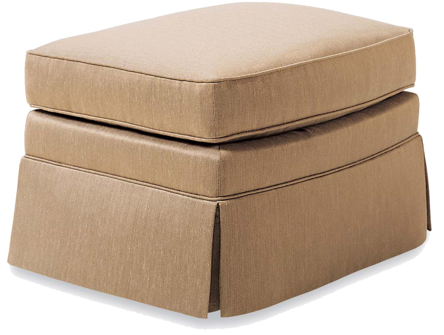Fine Upholstered Accents Ottoman    by Jessica Charles at Stuckey Furniture