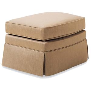 Jessica Charles Fine Upholstered Accents Ottoman