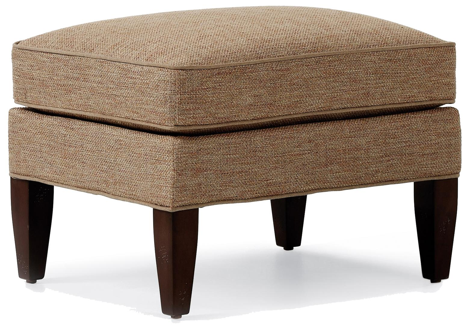 Fine Upholstered Accents Ottoman    by Jessica Charles at Jacksonville Furniture Mart
