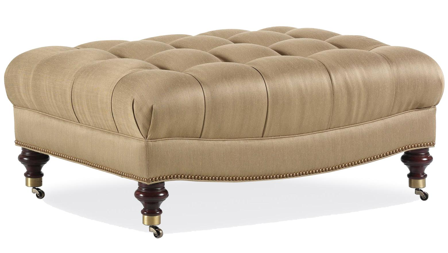 Fine Upholstered Accents Cocktail Ottoman    by Jessica Charles at Alison Craig Home Furnishings