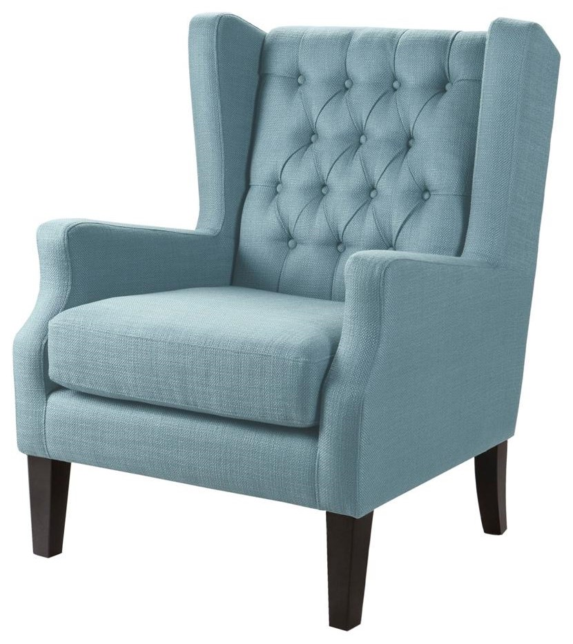 Home Accents Tufted Wing Chair at Belfort Furniture