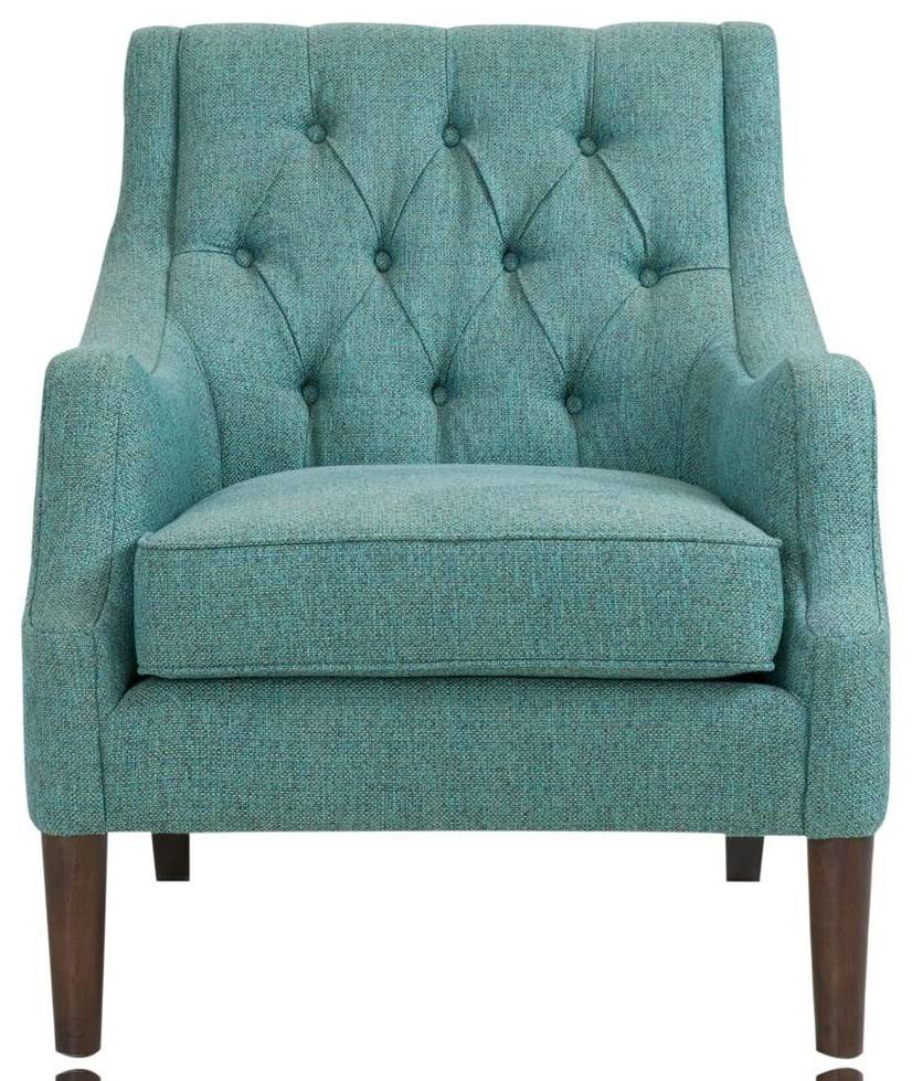 Home Accents Teal Tufted Chair at Belfort Furniture