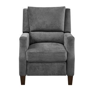 Gray Pushback Recliner