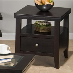 End Table w/ Drawer & Shelf