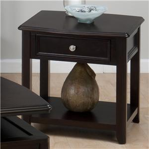 Jofran Corranado Espresso End Table