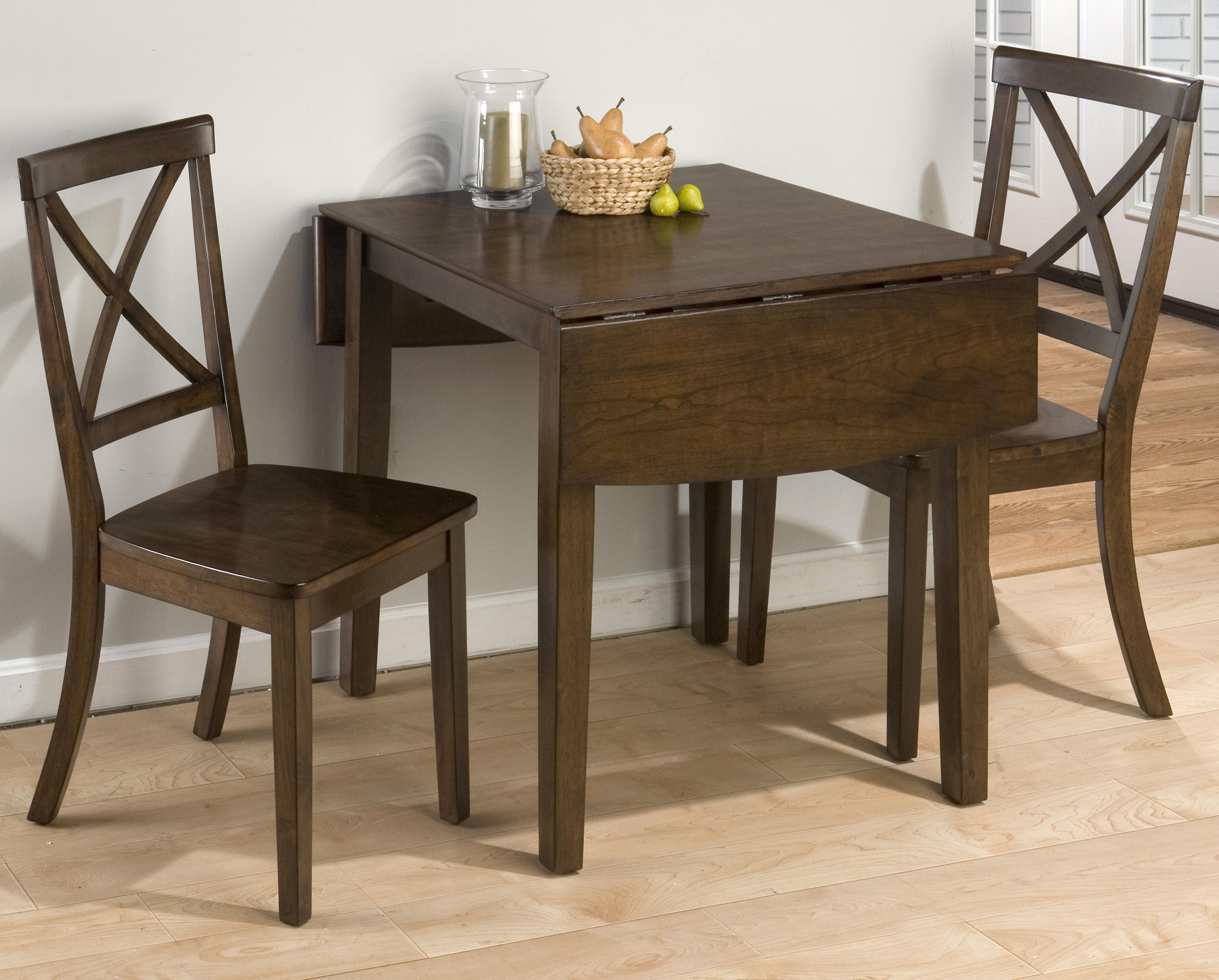 Taylor Cherry 3-Piece Dining Set by Jofran at A1 Furniture & Mattress