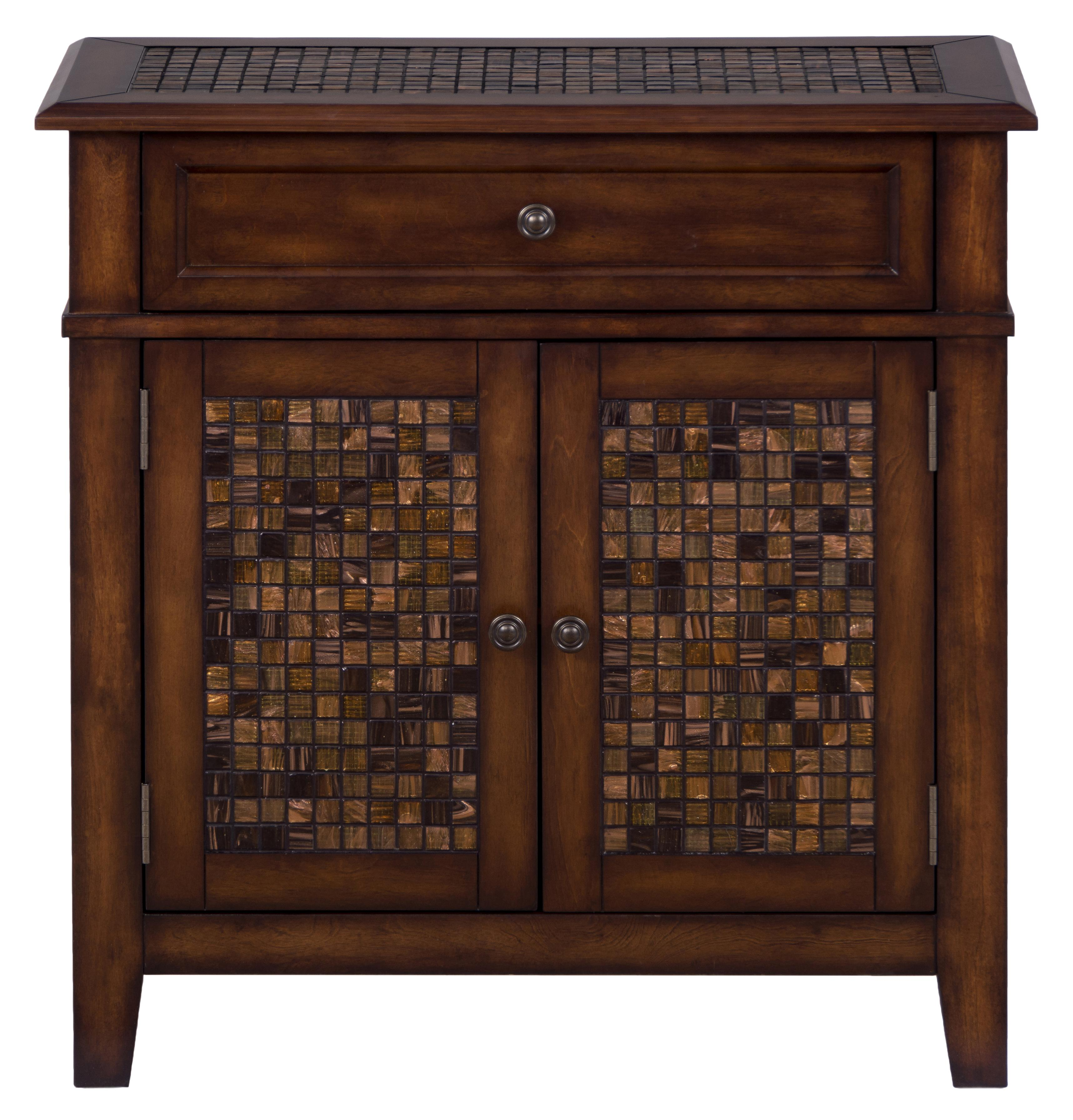 Baroque Brown Accent Cabinet by Jofran at Home Furnishings Direct