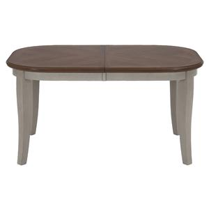 Oval Leg Dining Table with Butterfly Leaf