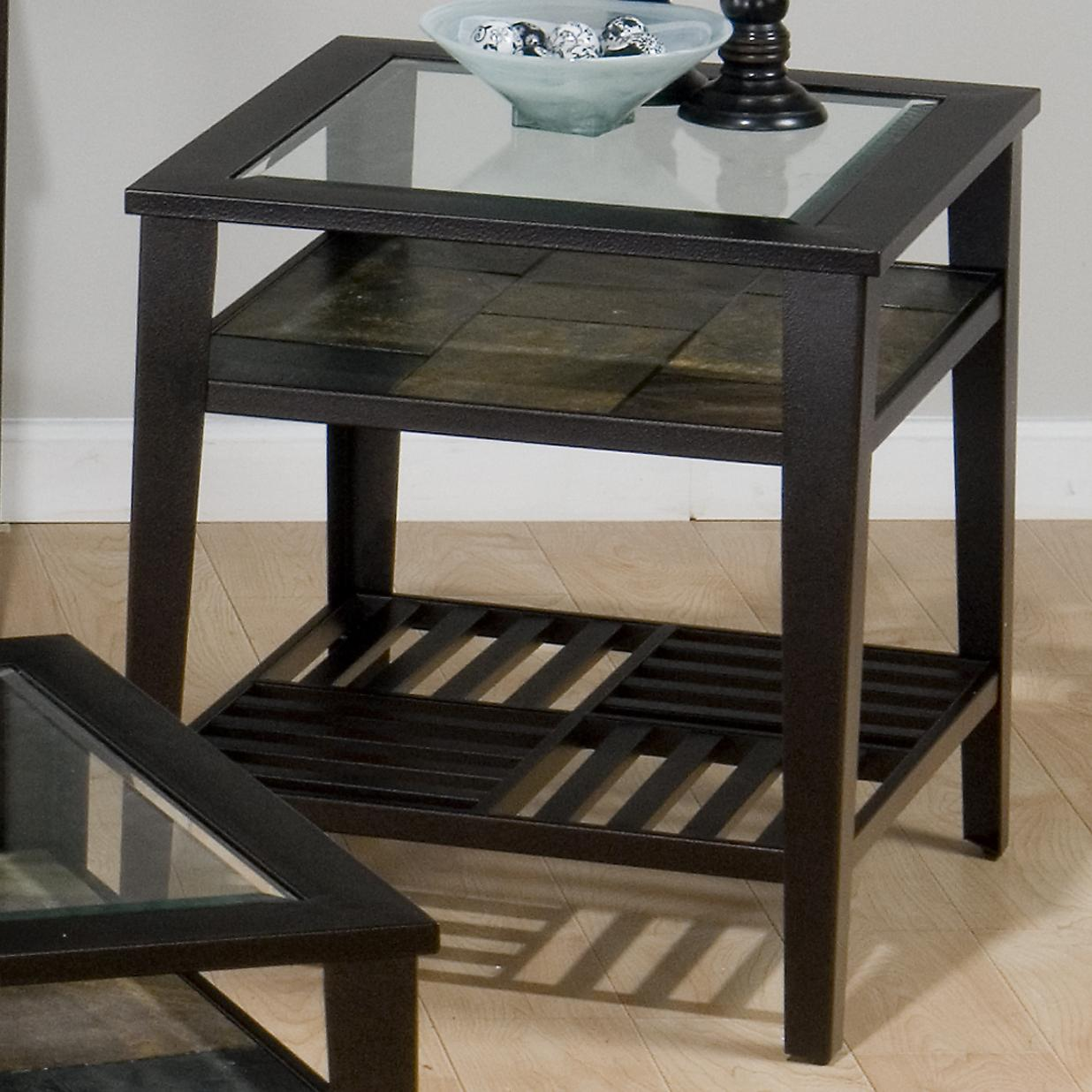 909 End Table by Jofran at Pilgrim Furniture City