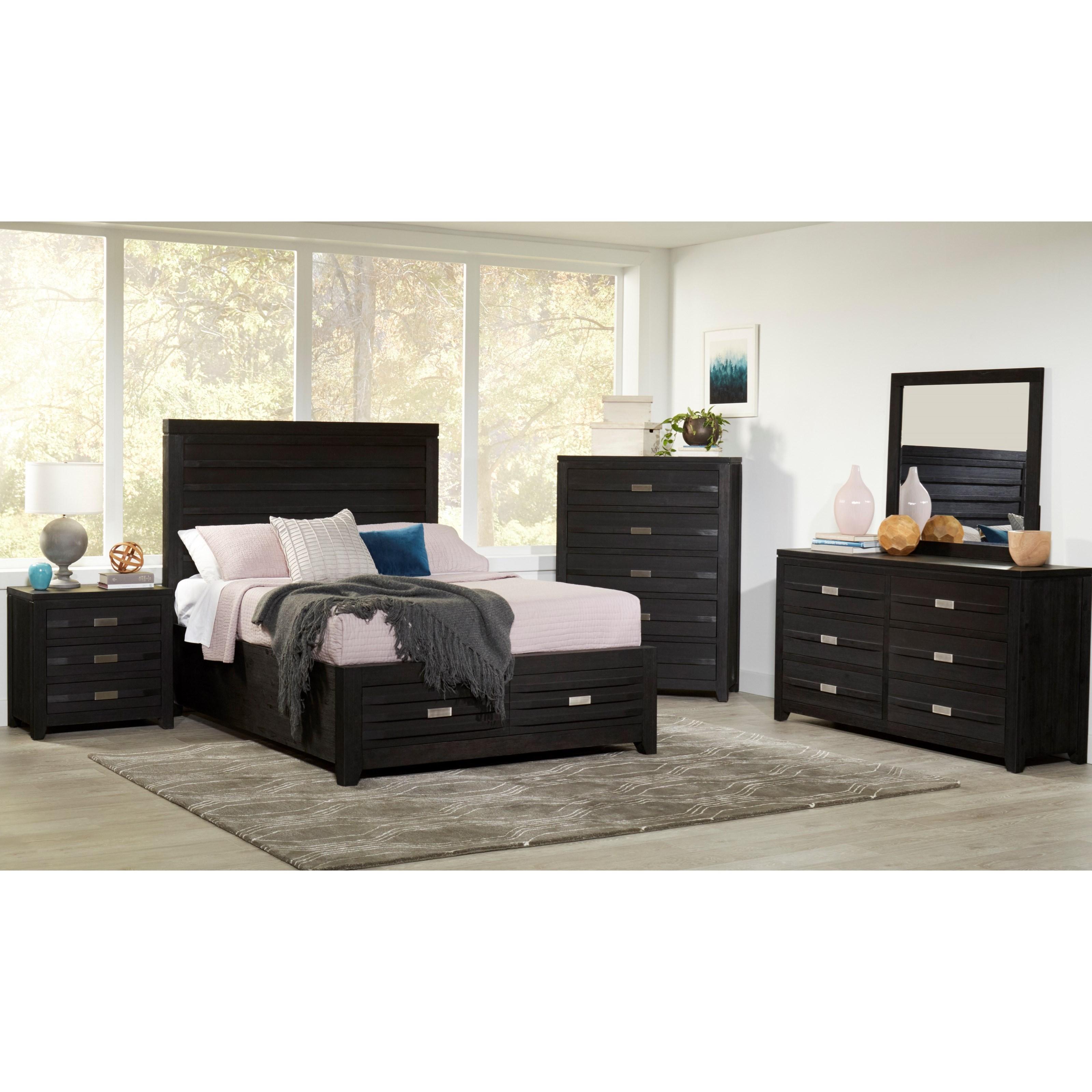 Altamonte King Bedroom Group by Jofran at Lapeer Furniture & Mattress Center