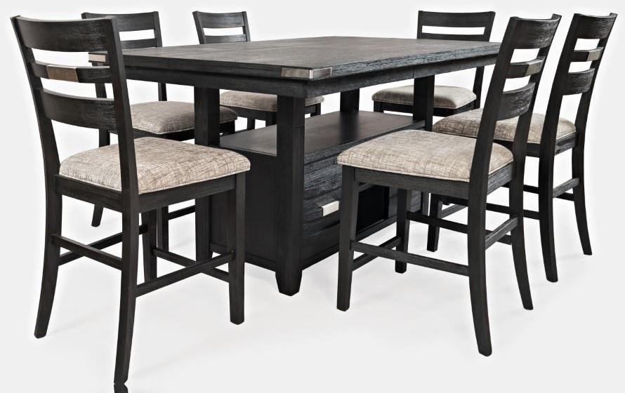 Altamonte Pub Table x 4 Stools by Jofran at Furniture Fair - North Carolina