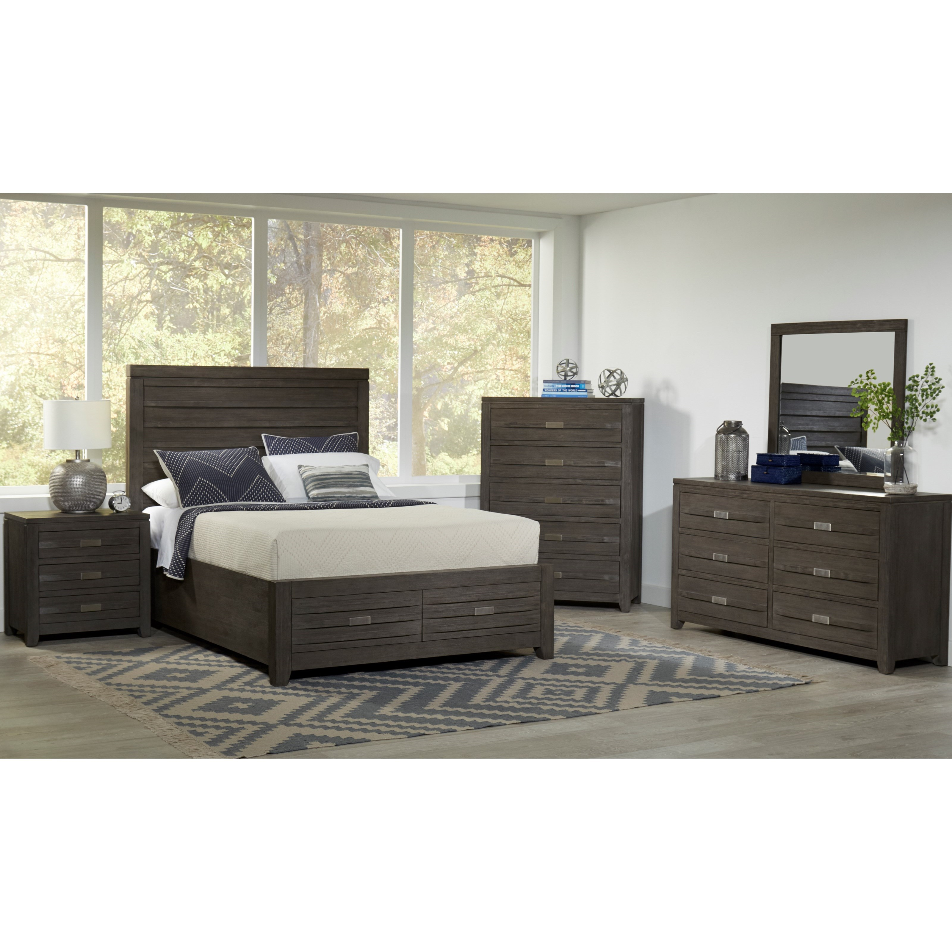 Altamonte  Queen Bedroom Group by Jofran at Simply Home by Lindy's