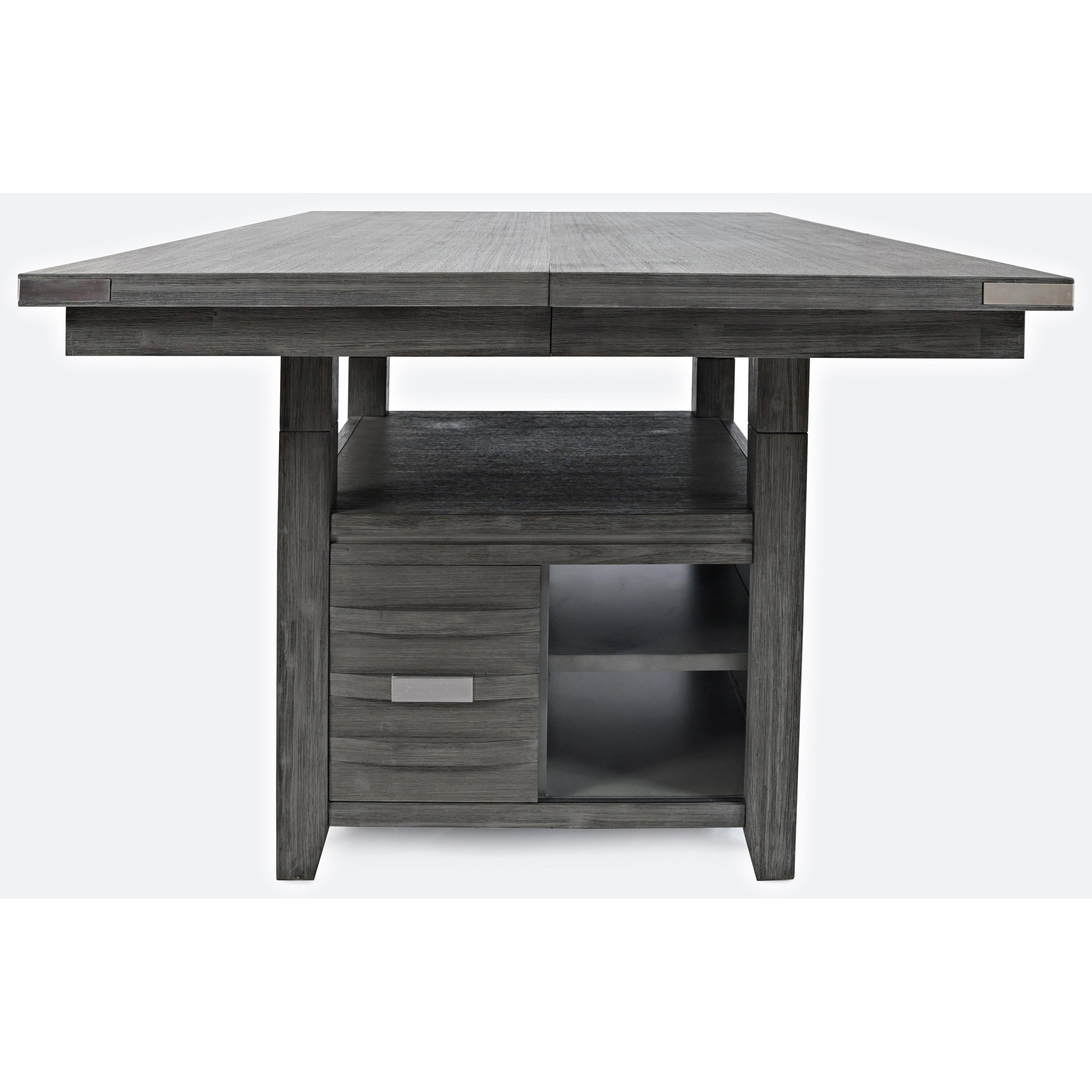 Altamonte  Square Dining w/Storage Base by Jofran at Home Furnishings Direct