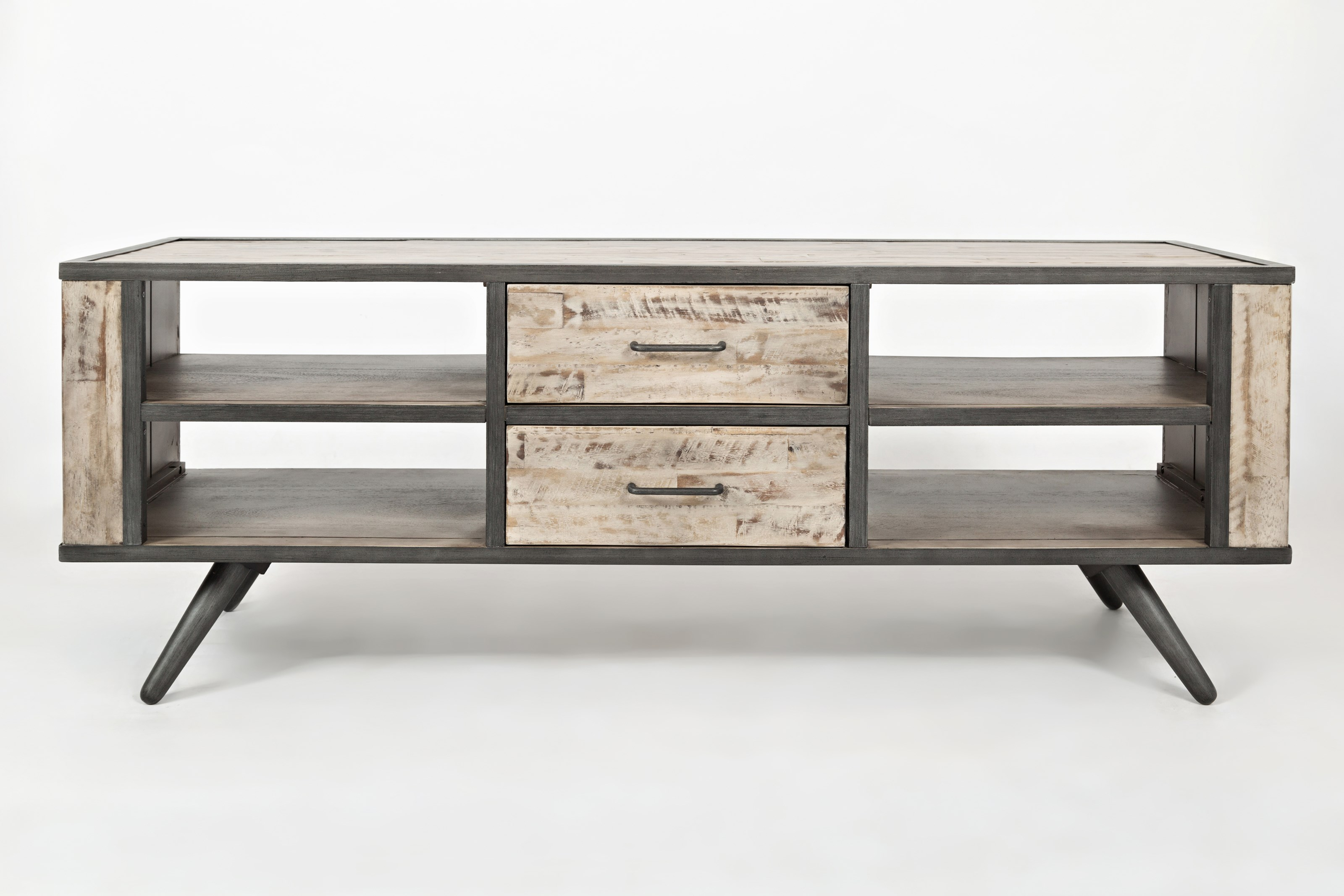 American Retrospective Media Console by Jofran at Pilgrim Furniture City