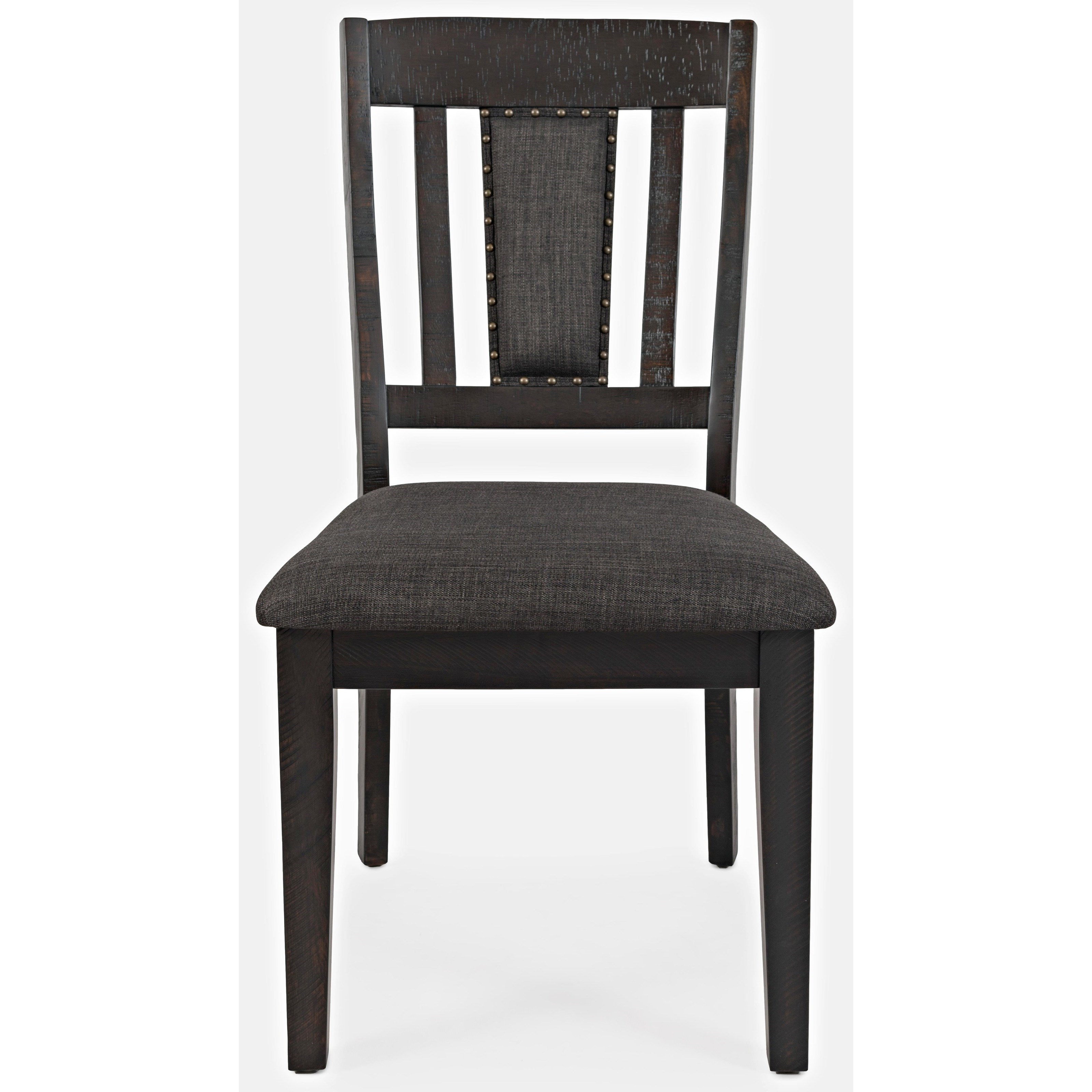 American Rustics Upholstered Slatback Dining Chair by Jofran at Sparks HomeStore