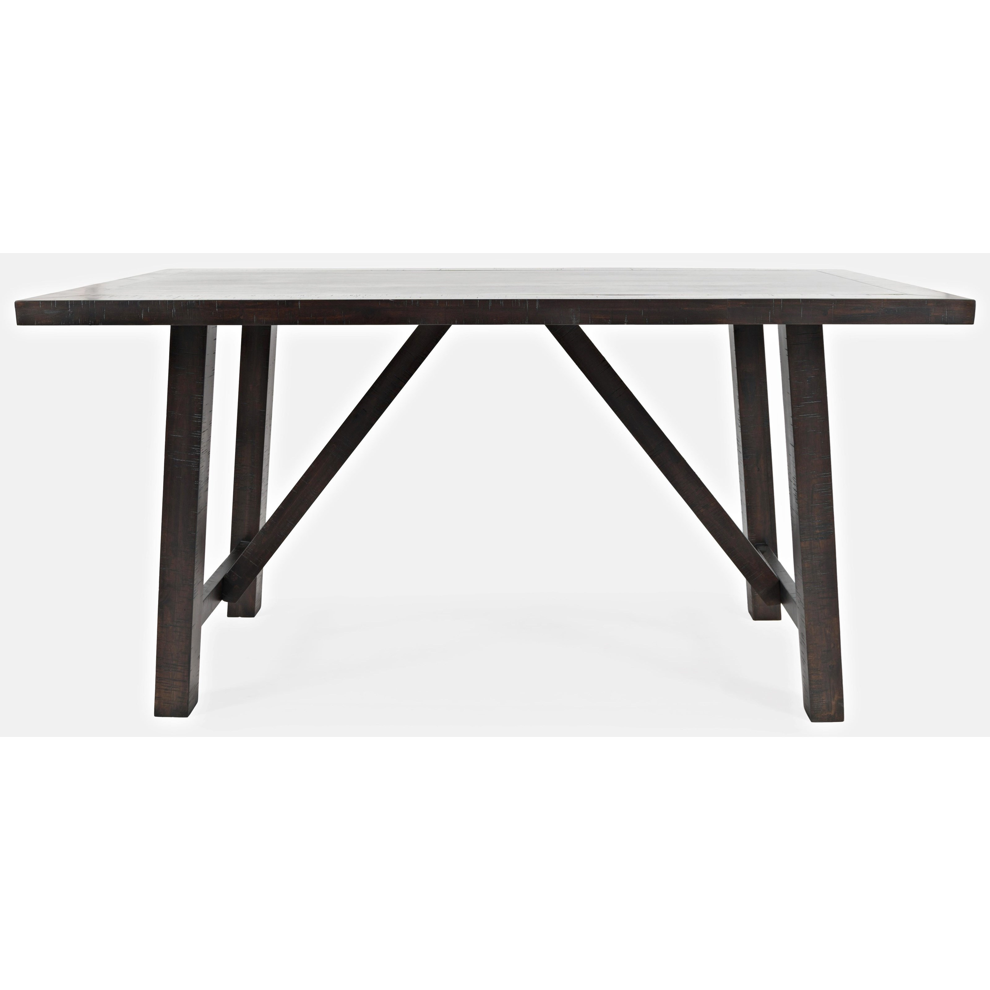 American Rustics Trestle Counter Table by Jofran at Simply Home by Lindy's