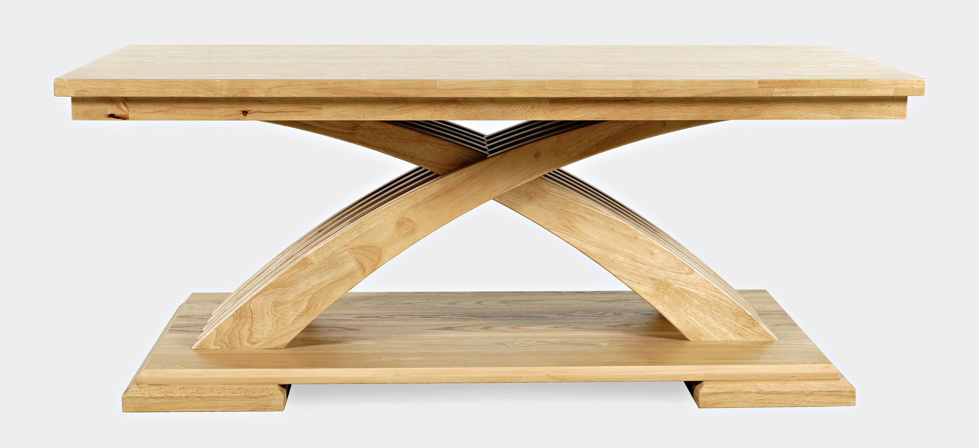 Anthology Castered Coffee Table - Warm Ash by Jofran at Home Furnishings Direct
