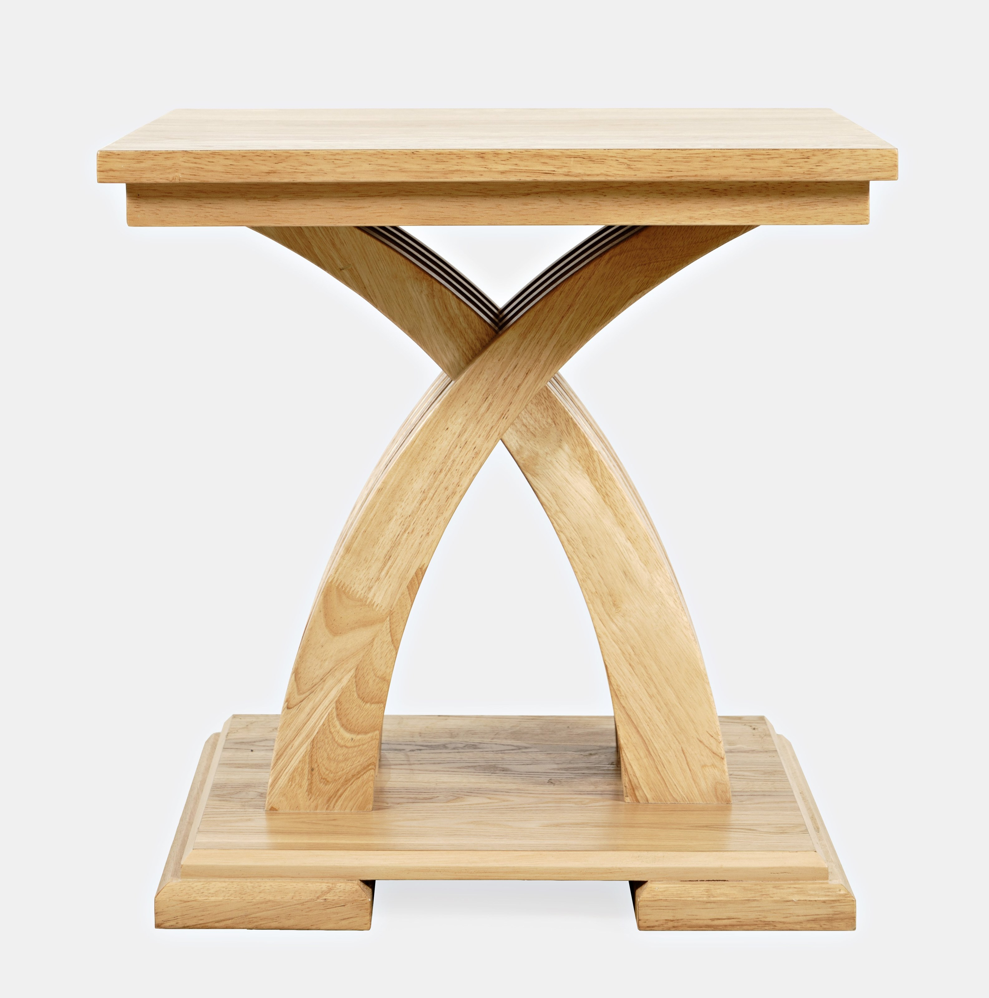 Anthology End Table - Warm Ash by Jofran at Mueller Furniture