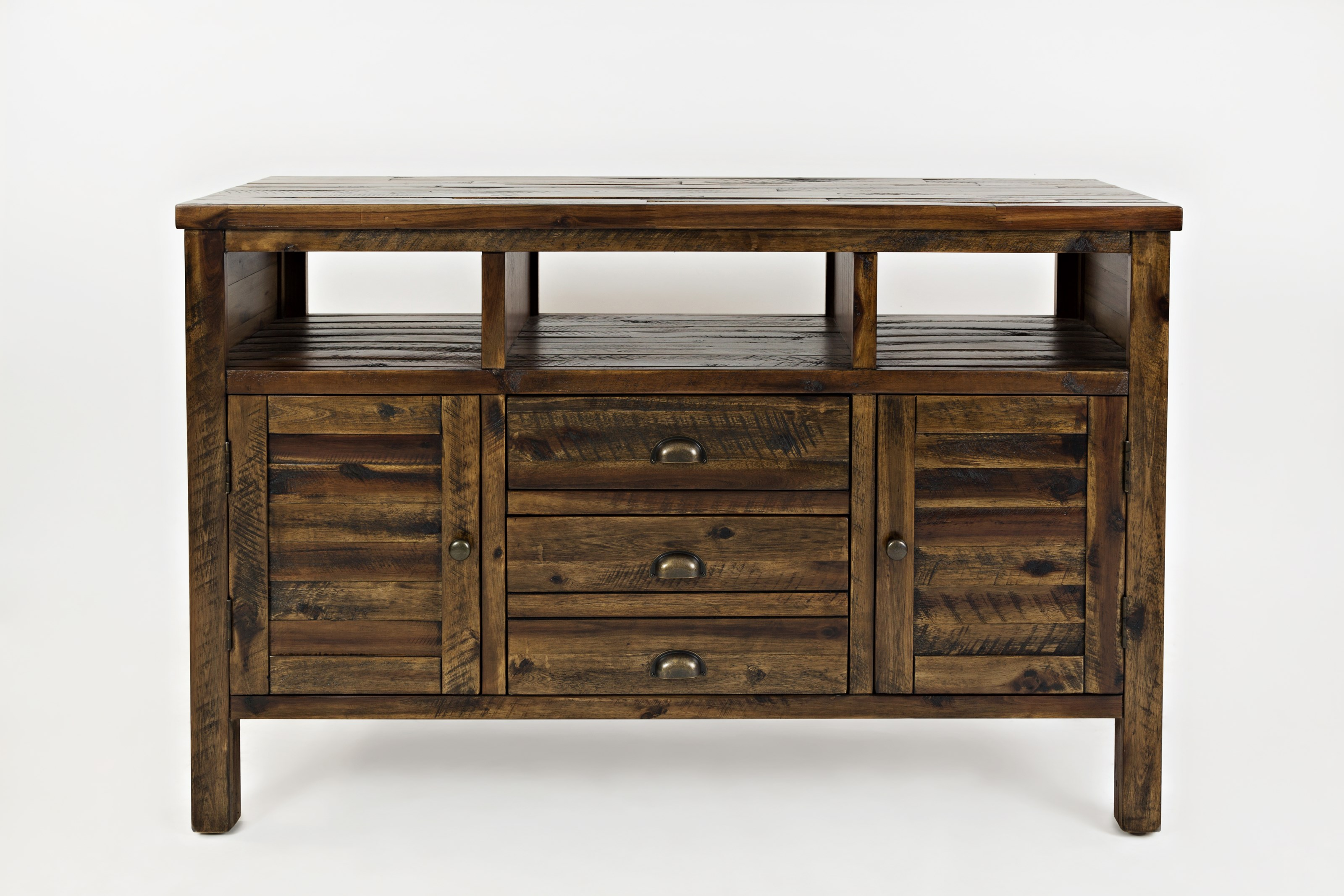 "Artisan's Craft 50"" Media Console by Jofran at Simply Home by Lindy's"