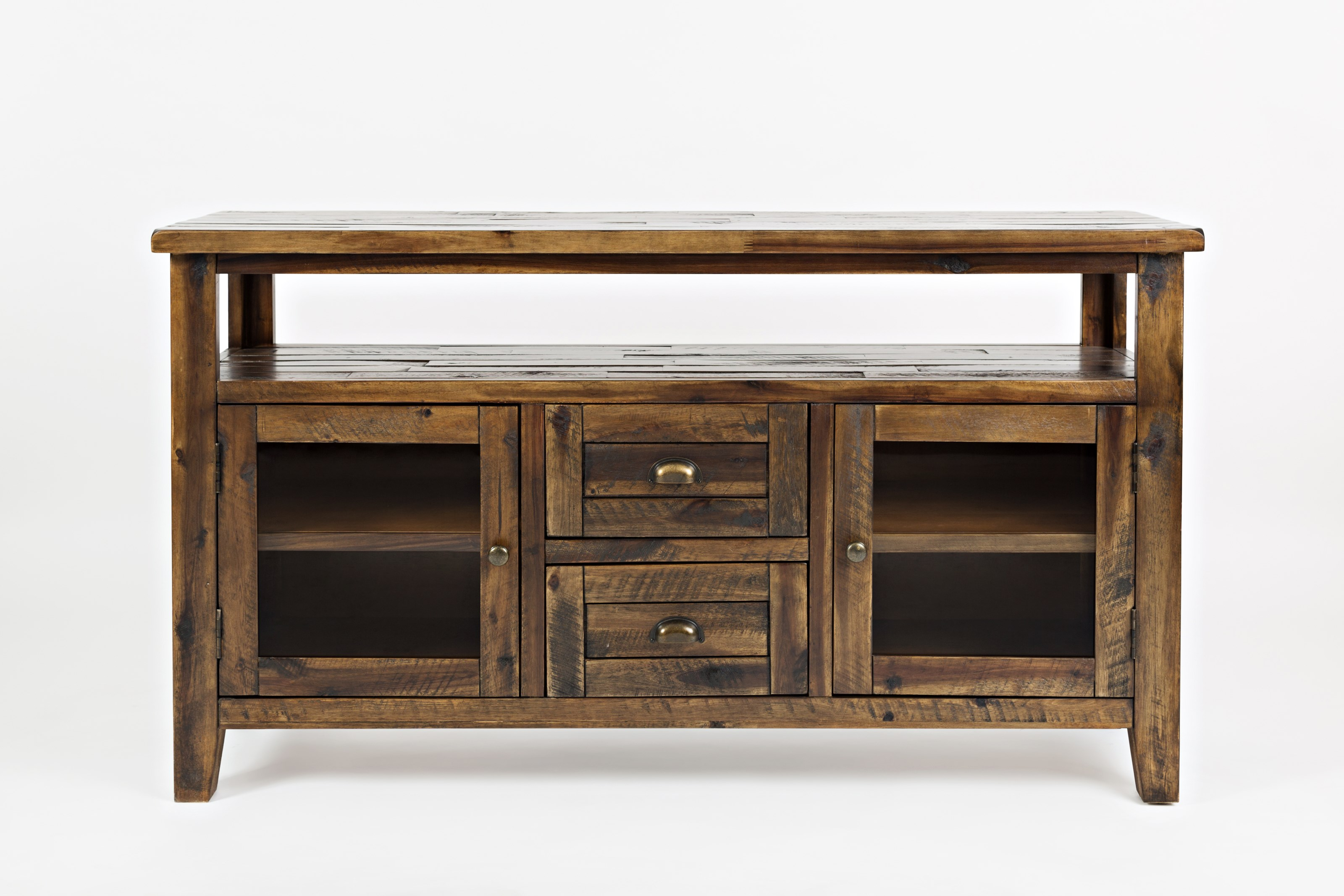 "Artisan's Craft 54"" Storage Console by Jofran at Zak's Home"