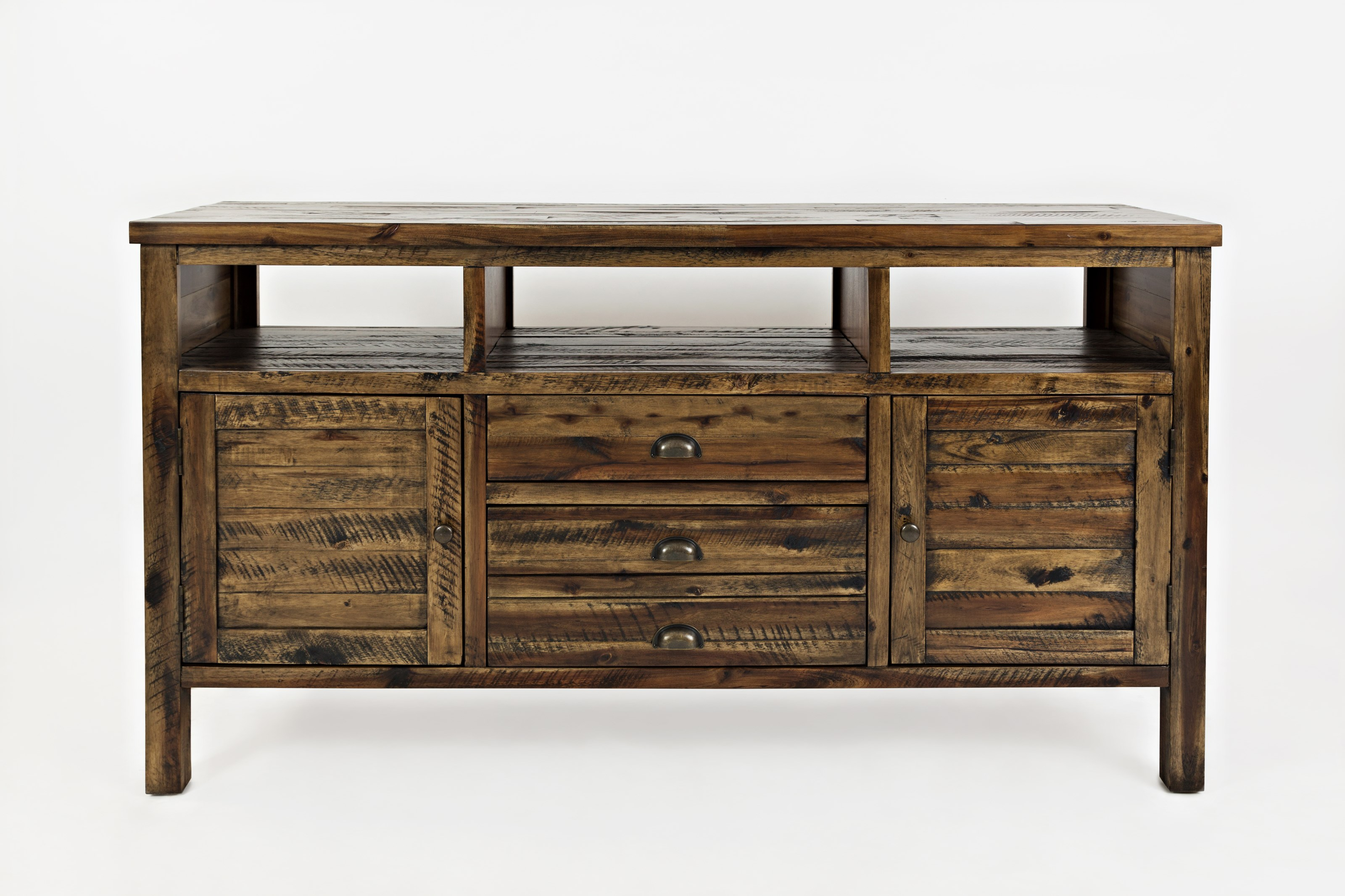 "Artisan's Craft 60"" Media Console by Jofran at Darvin Furniture"