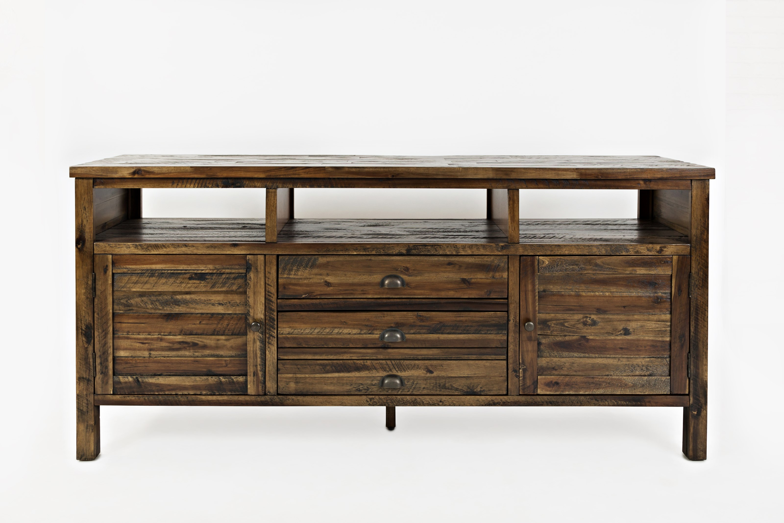 """Artisan's Craft 70"""" Media Console by Jofran at Simply Home by Lindy's"""