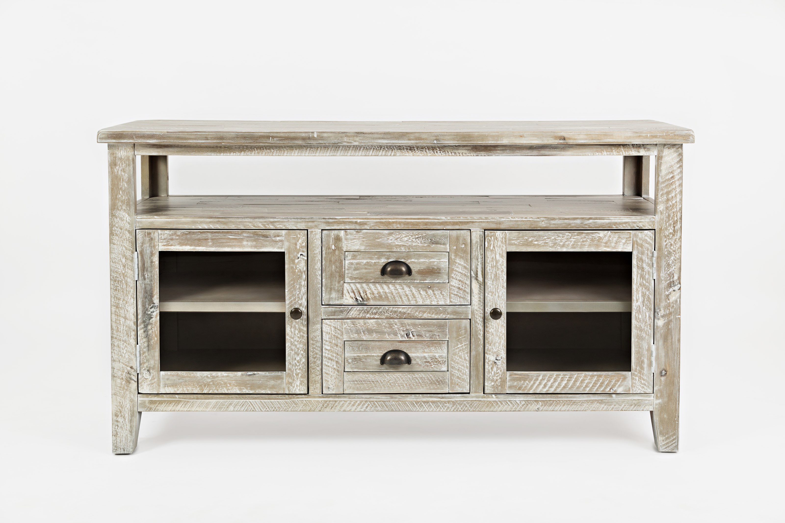 "Artisan's Craft 54"" Storage Console by Jofran at Simply Home by Lindy's"