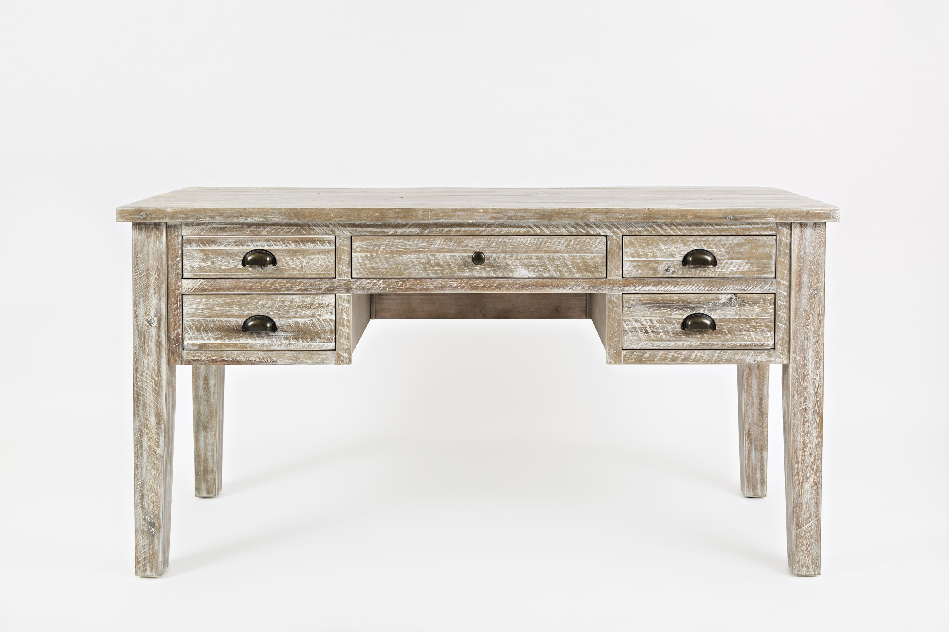 Artisan's Craft 5-Drawer Desk by Jofran at Lapeer Furniture & Mattress Center