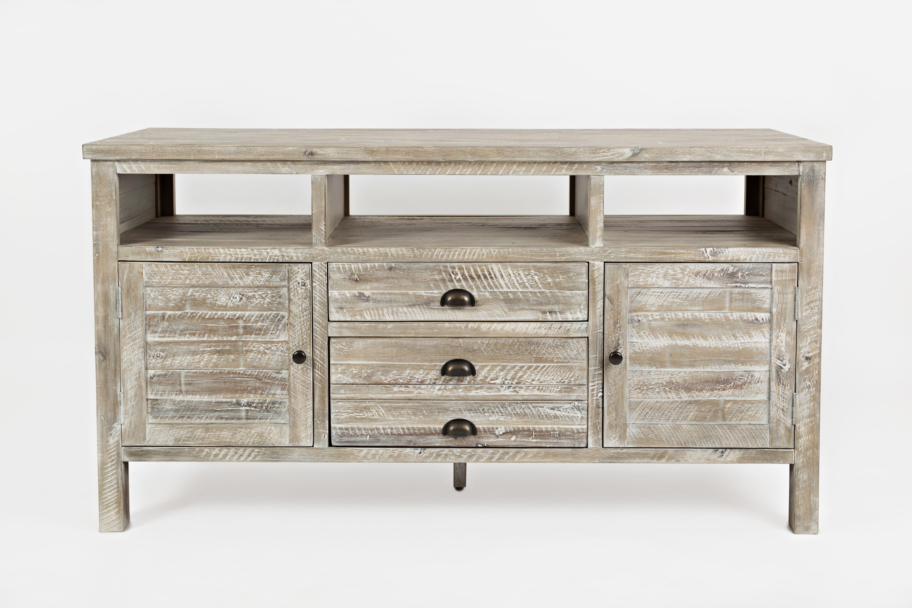 "Artisan's Craft 60"" Media Console by Jofran at Home Furnishings Direct"