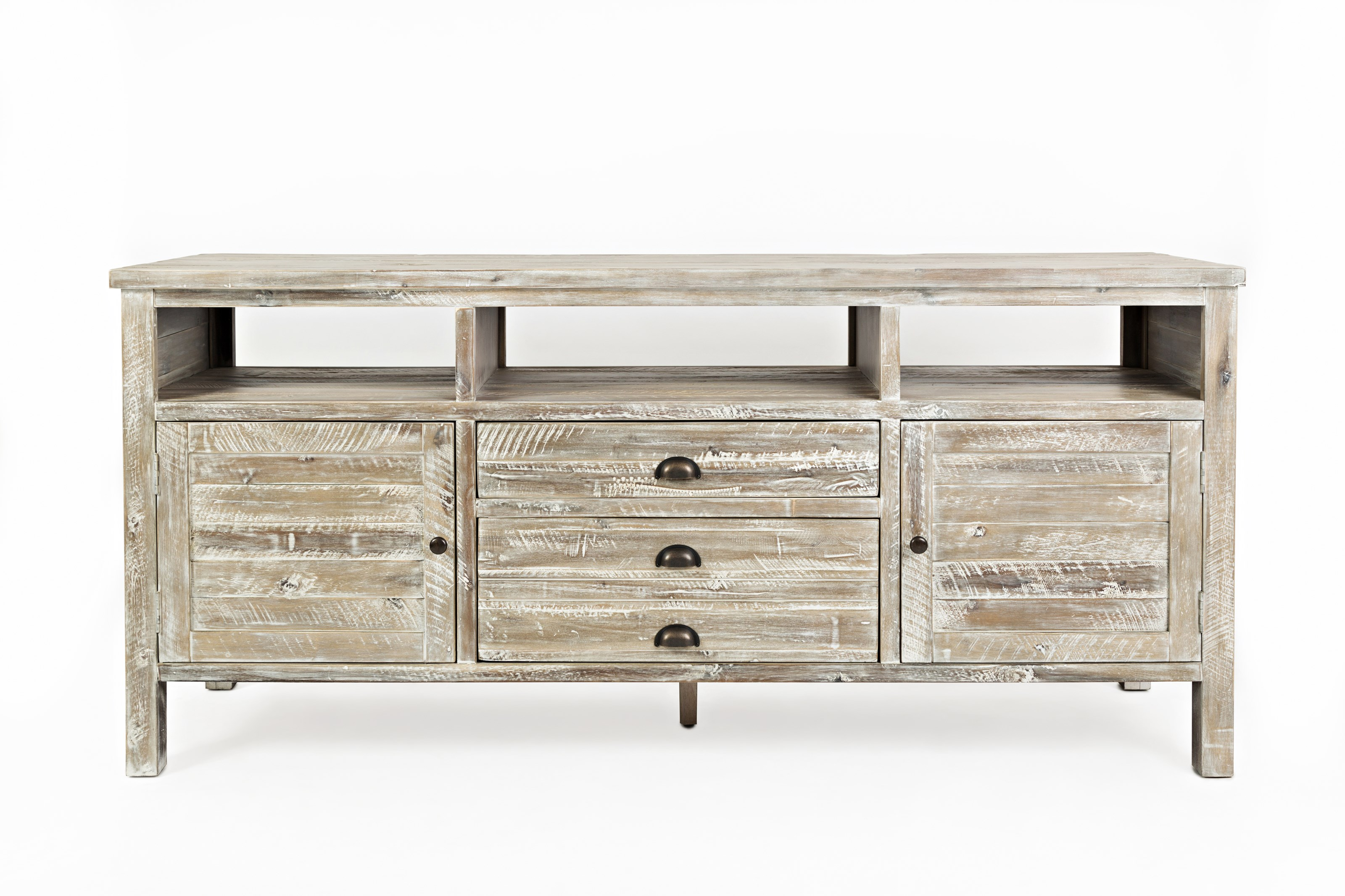 "Artisan's Craft 70"" Media Console by Jofran at Darvin Furniture"