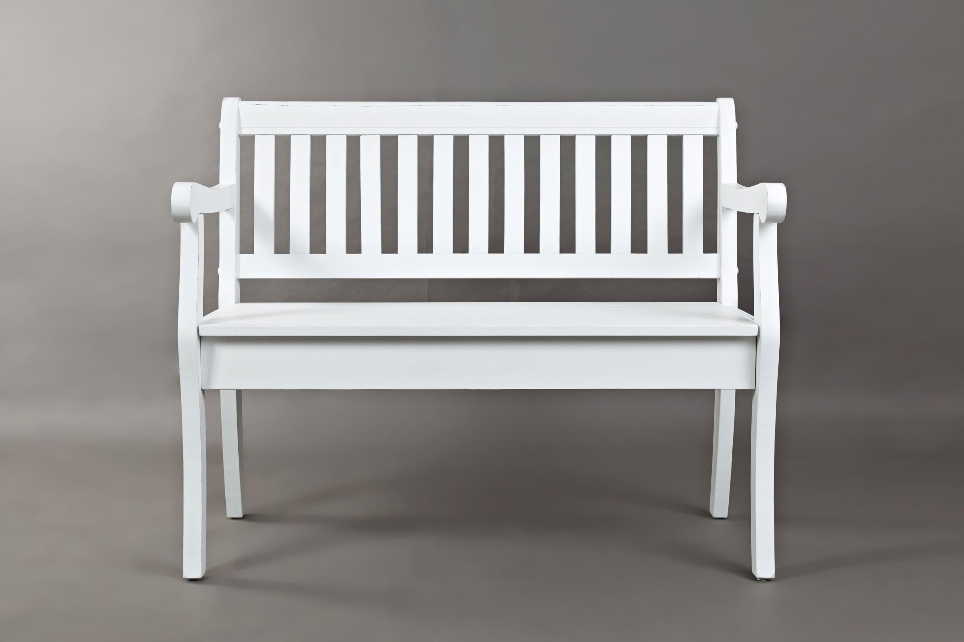 Artisan's Craft Storage Bench by Jofran at Lapeer Furniture & Mattress Center