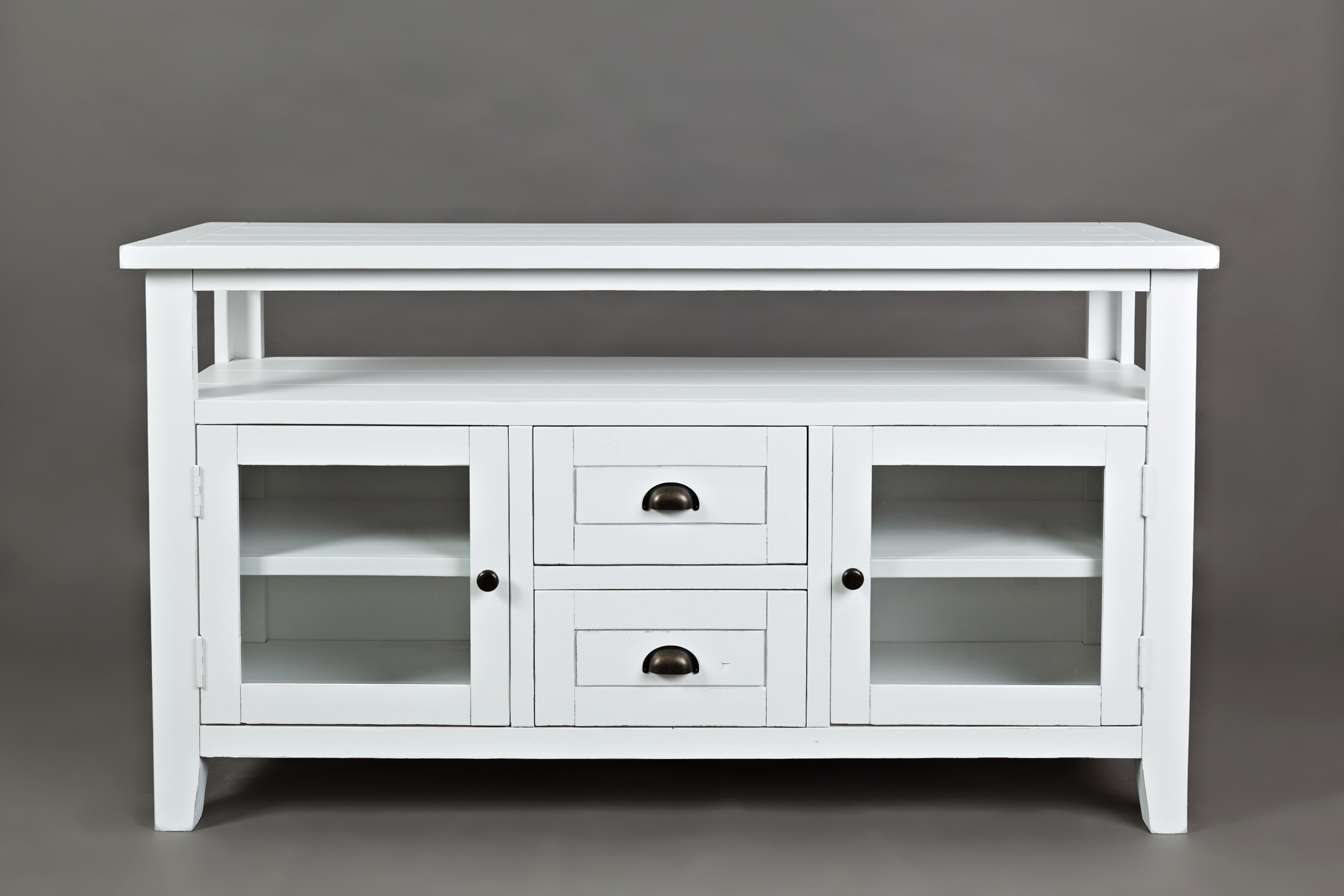 "Artisan's Craft 54"" Storage Console by Jofran at Stoney Creek Furniture"