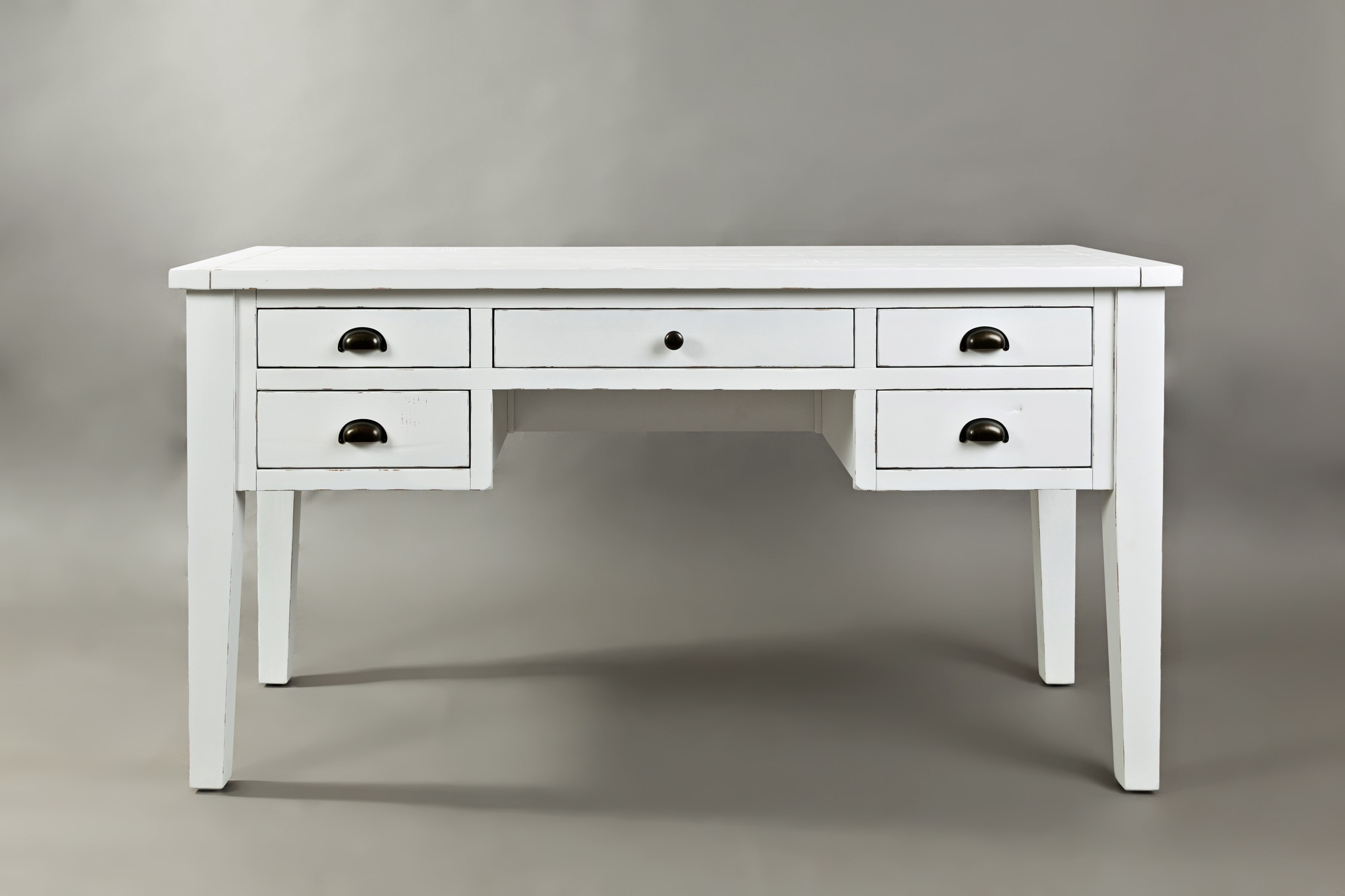 Artisan's Craft 5-Drawer Desk by Jofran at Lapeer Furniture & Mattress Center