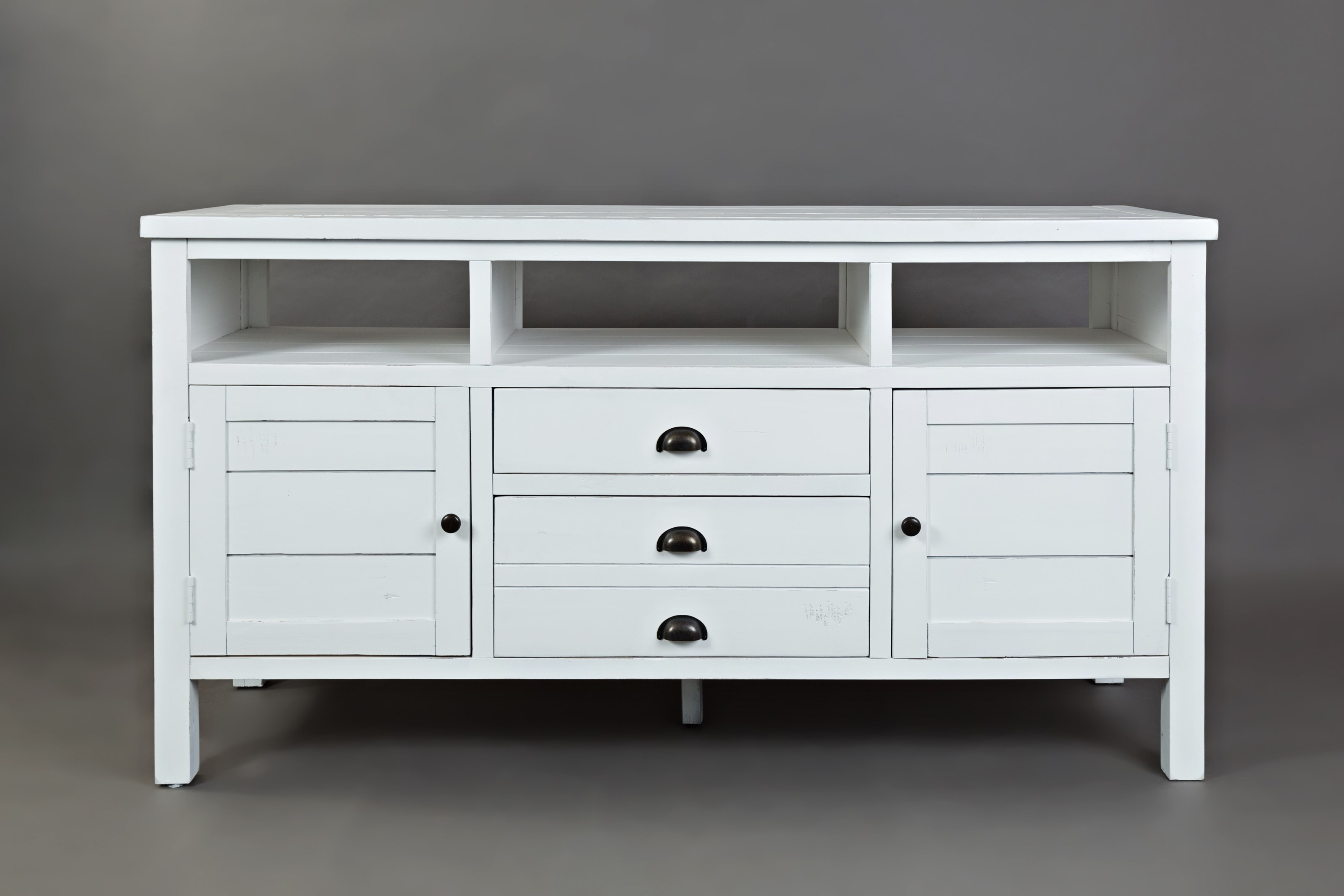 """Artisan's Craft 60"""" Media Console by Jofran at Simply Home by Lindy's"""