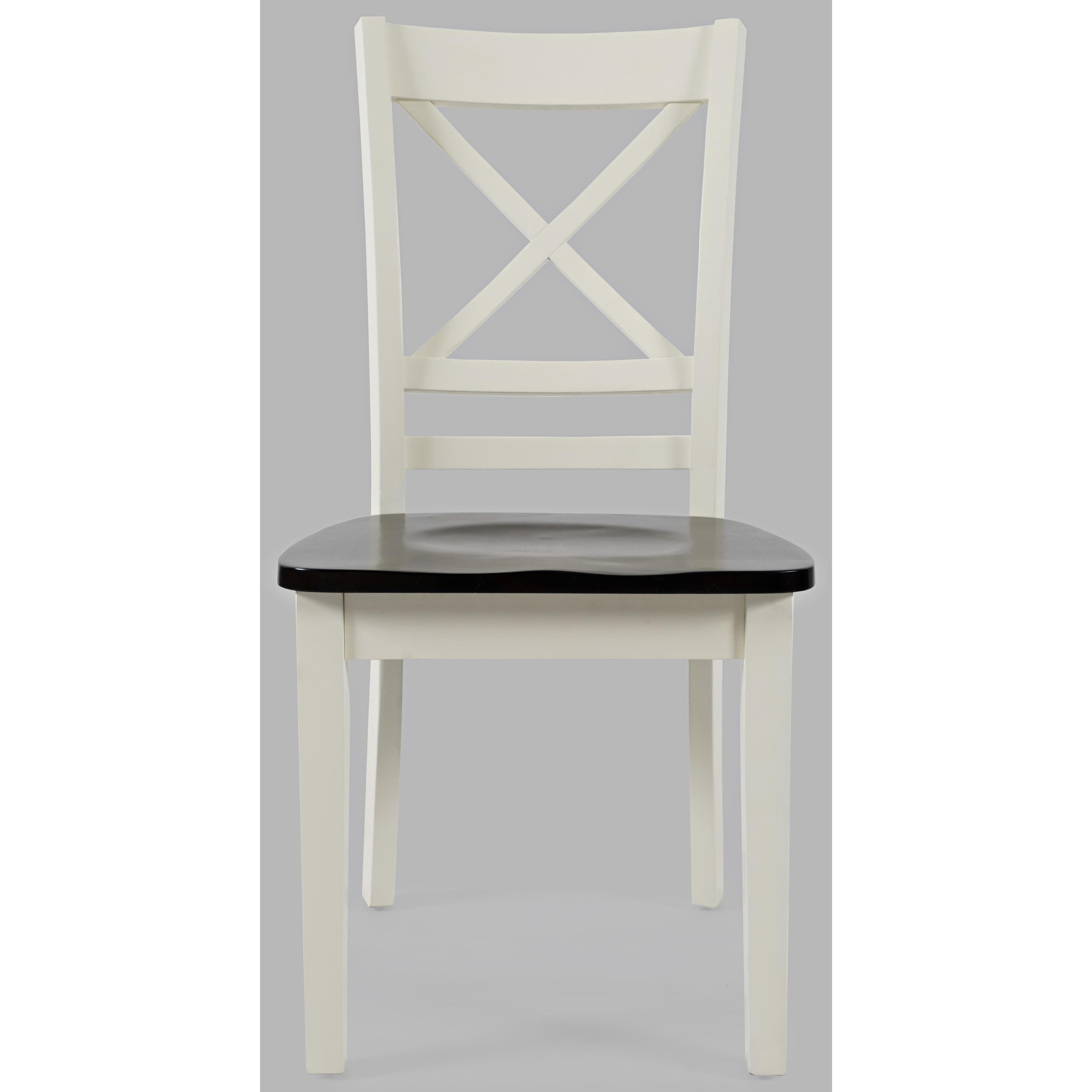Asbury Park X-Back Chair  by Jofran at Simply Home by Lindy's