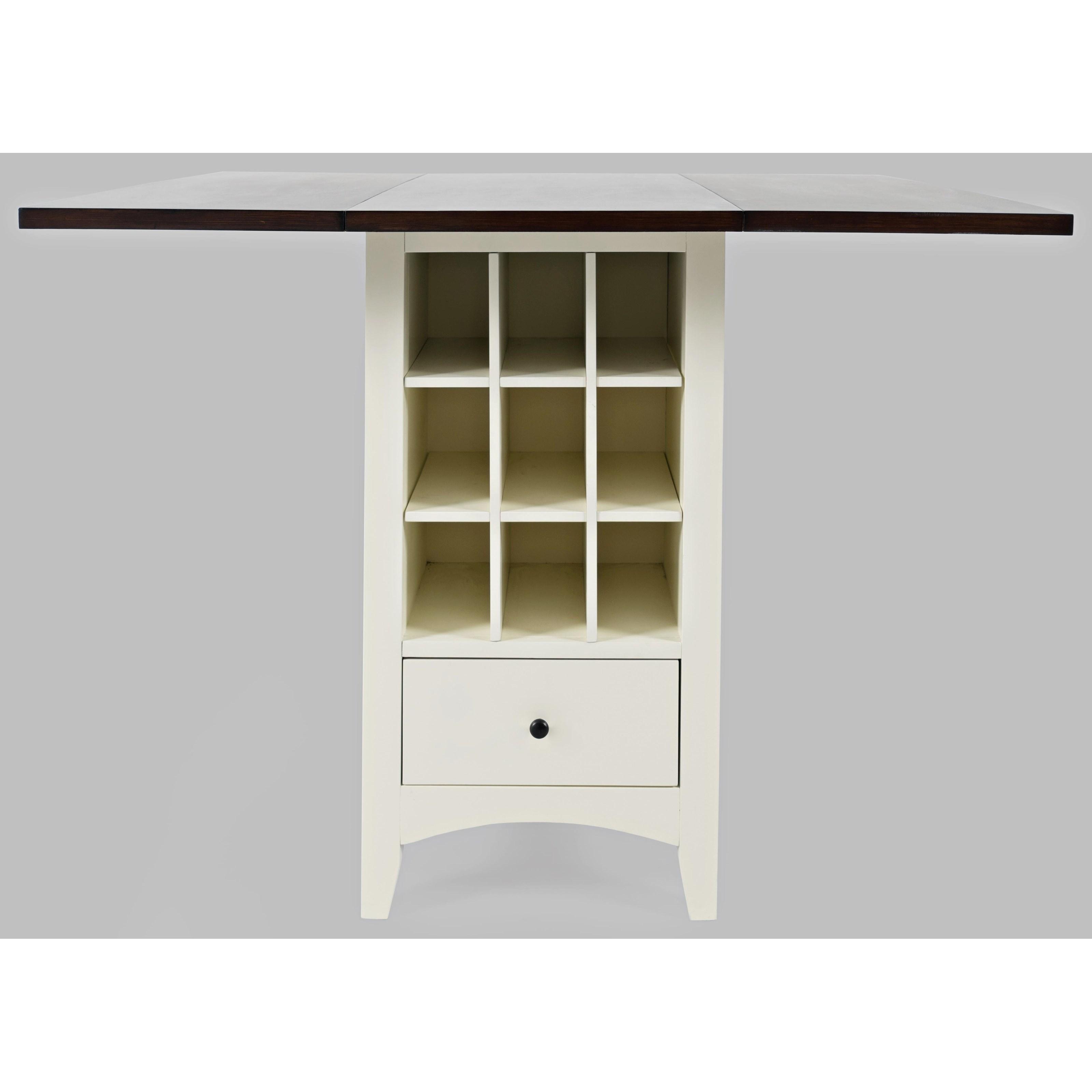 Asbury Park Storage Counter Dropleaf  by VFM Signature at Virginia Furniture Market
