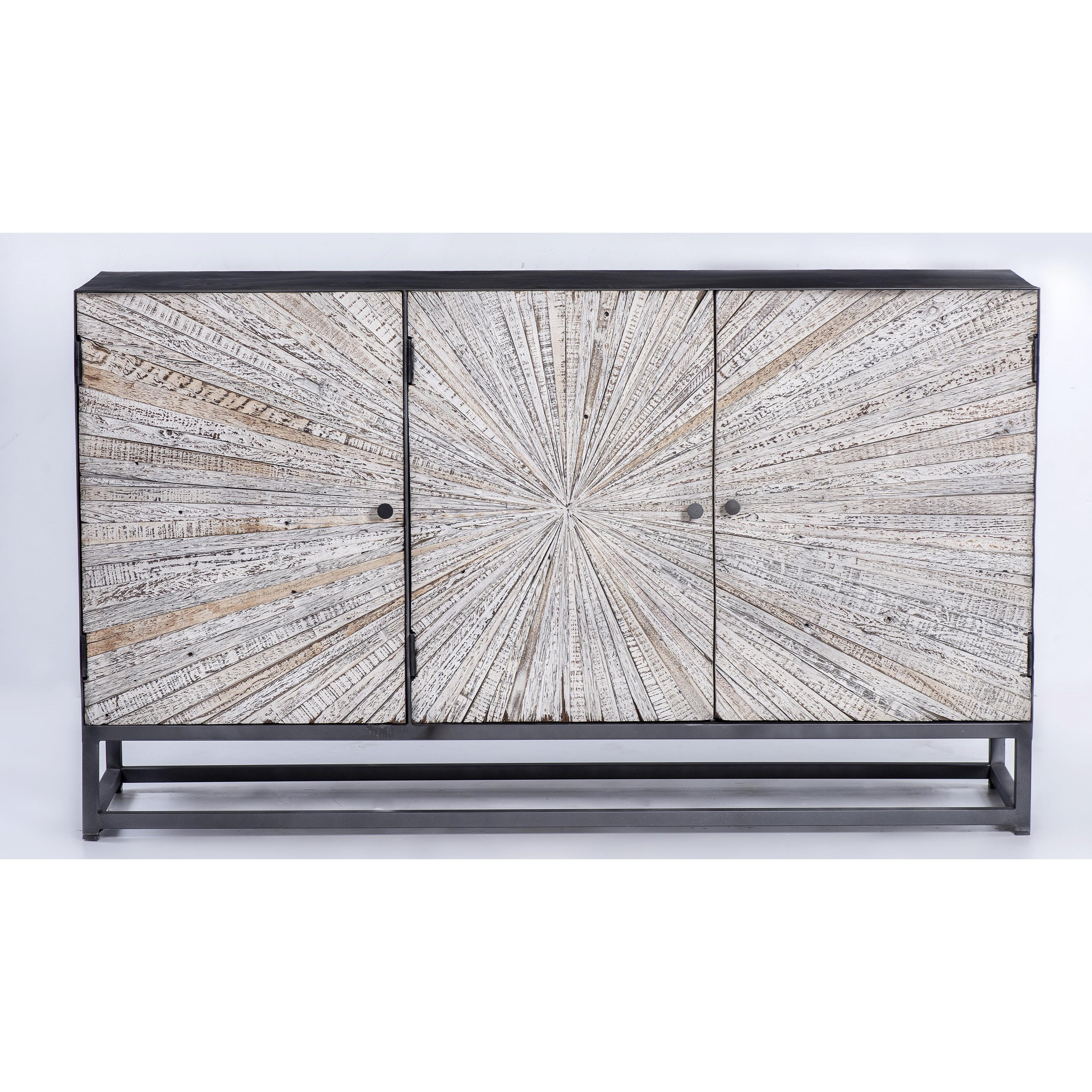 Astral Plains Reclaimed 3 Door Accent Cabinet by Jofran at Lapeer Furniture & Mattress Center