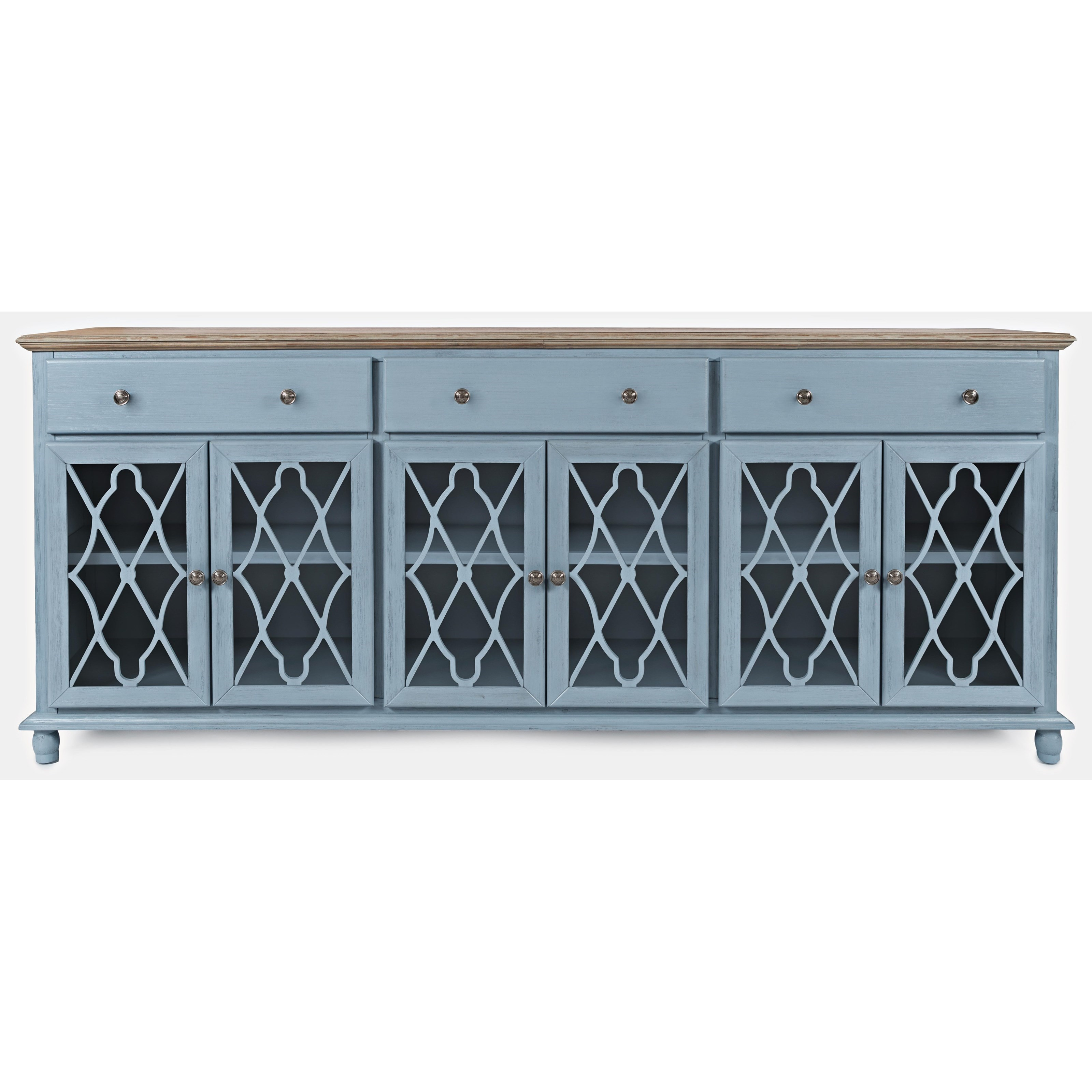 Aurora Hills 6-Door Accent Chest by Jofran at Simply Home by Lindy's