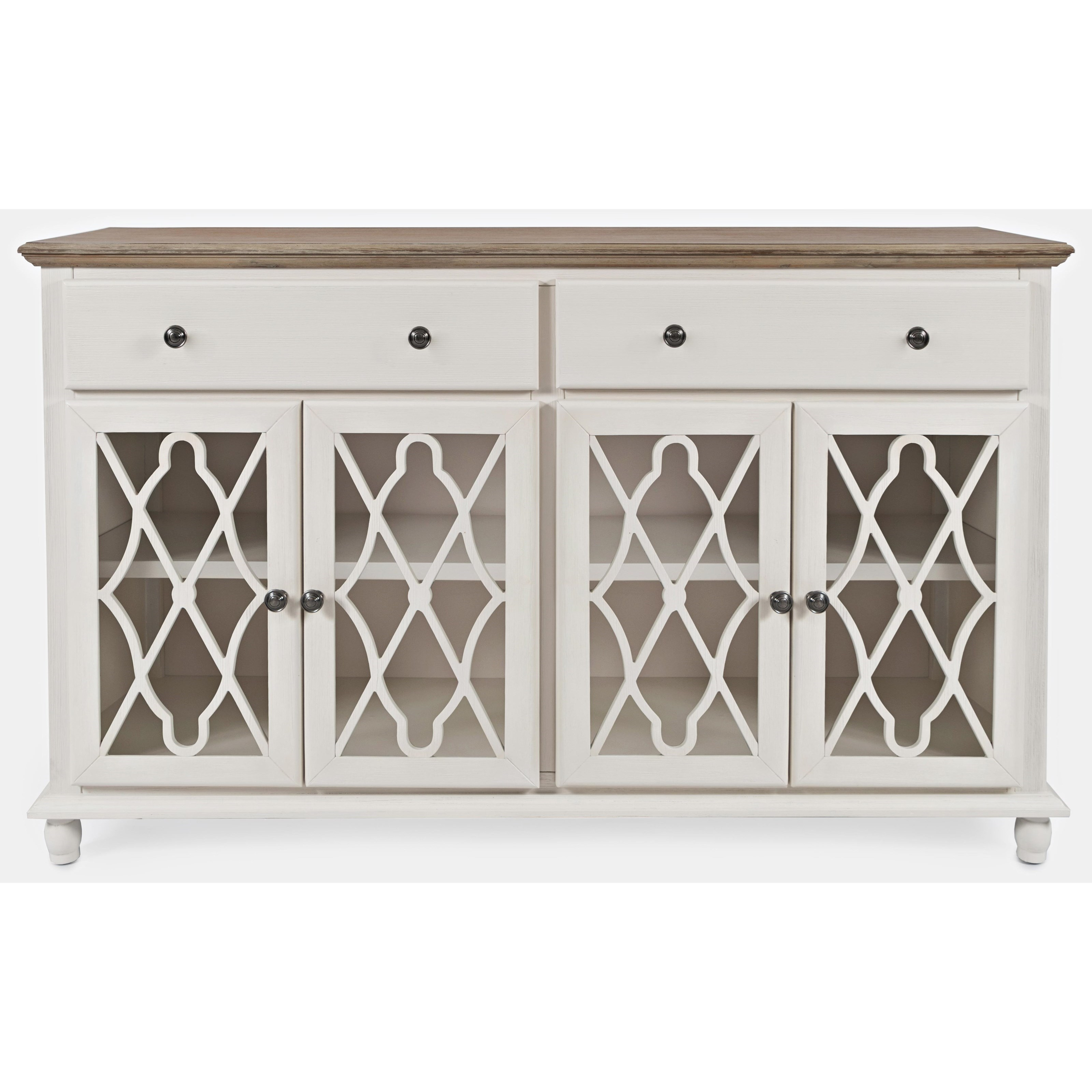 Aurora Hills 4-Door Accent Chest by Jo Furniture Co. at Ruby Gordon Home