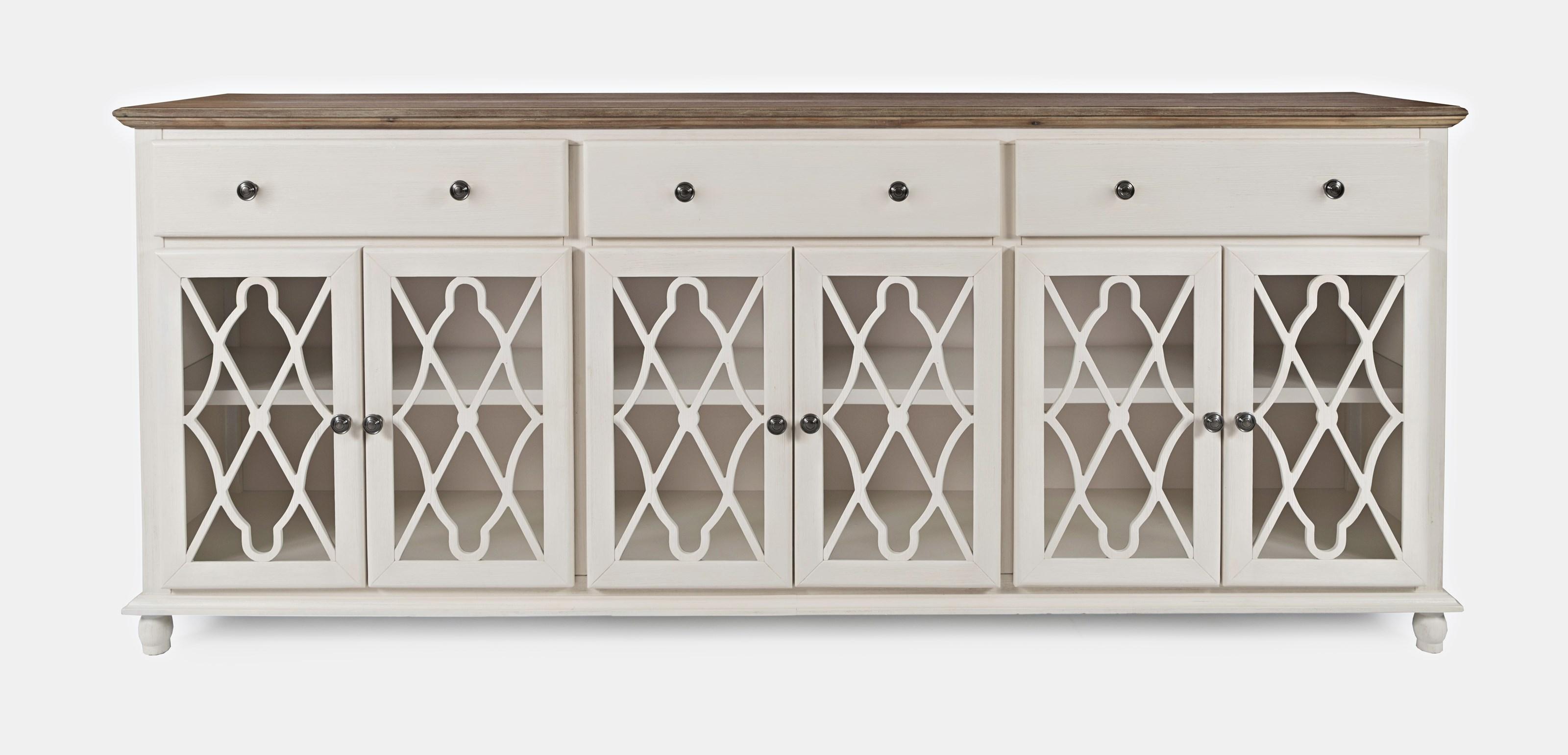 Aurora Hills 6-Door Accent Chest by Jofran at Furniture and ApplianceMart