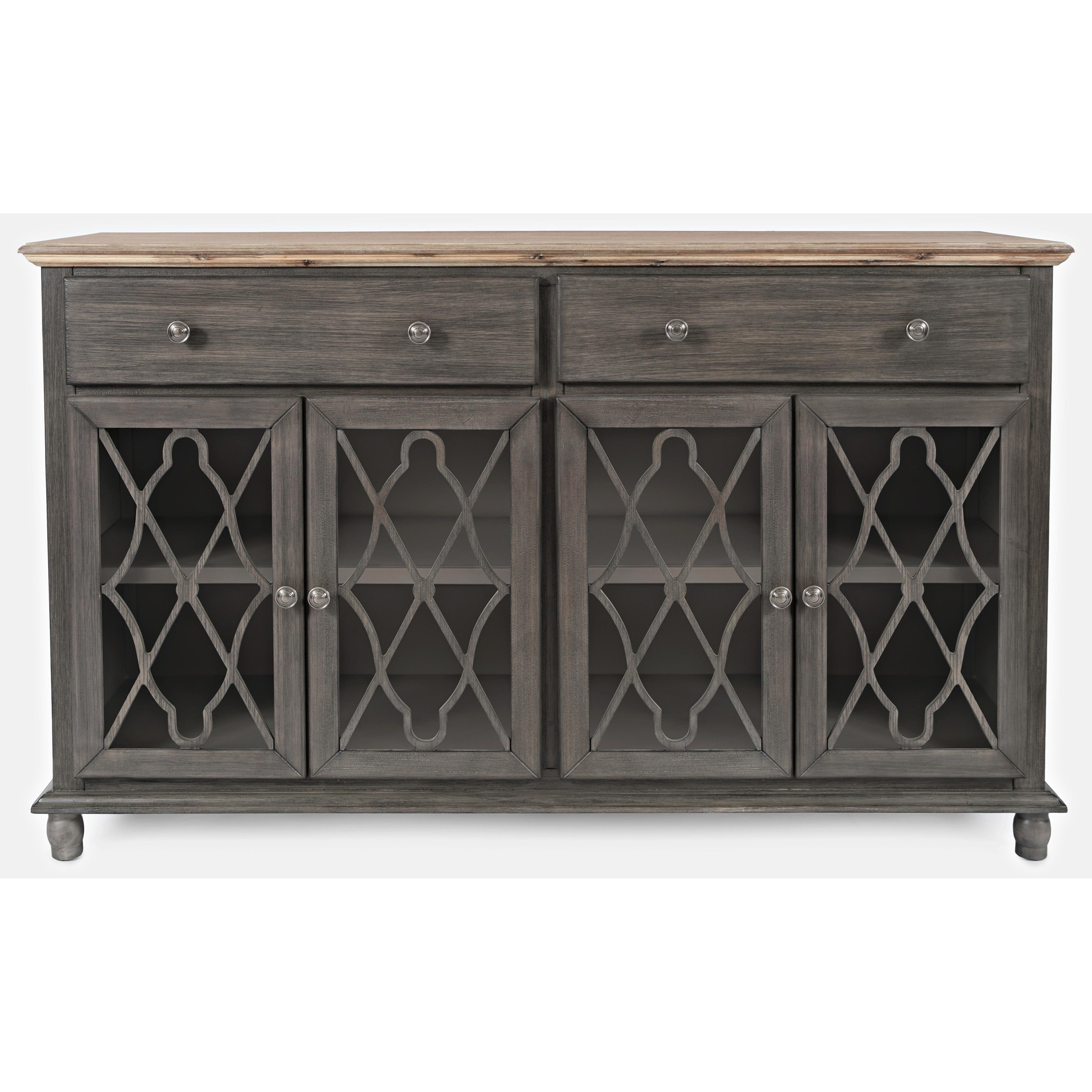 Aurora Hills 4-Door Accent Chest by Jofran at Sparks HomeStore