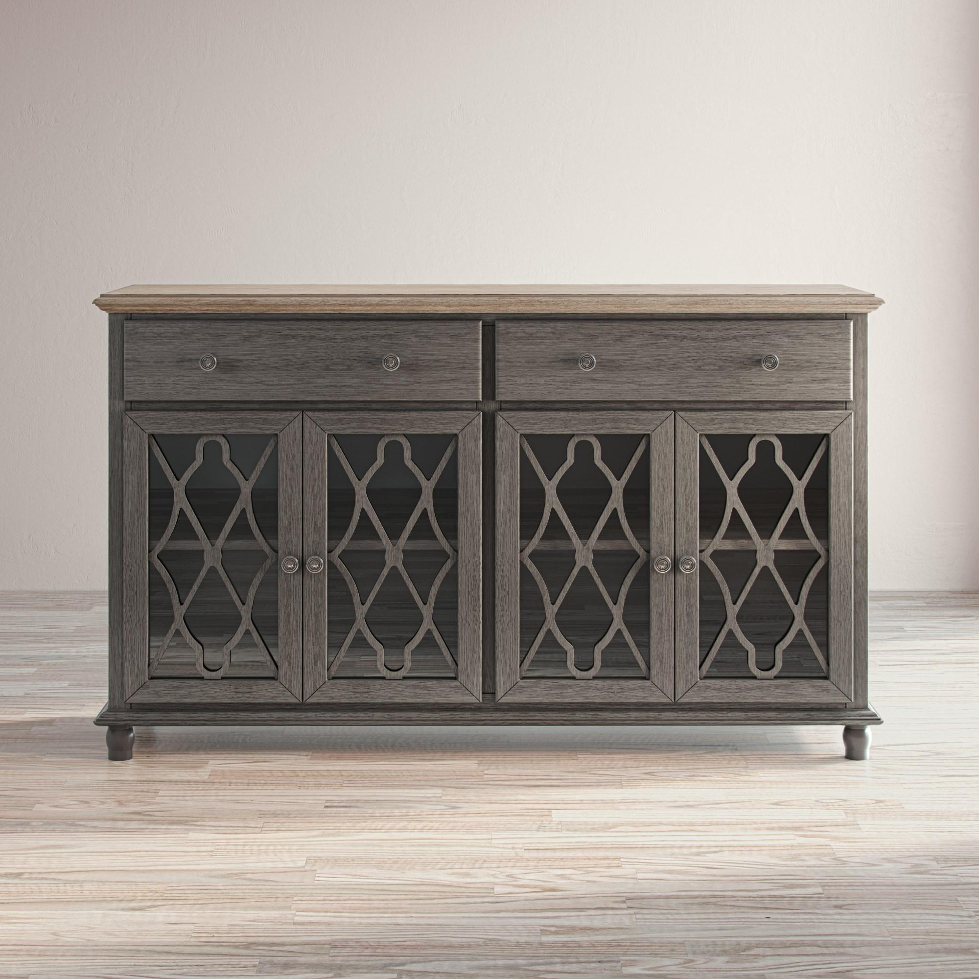 Aurora Hills 4-Door Accent Chest by Jofran at Crowley Furniture & Mattress