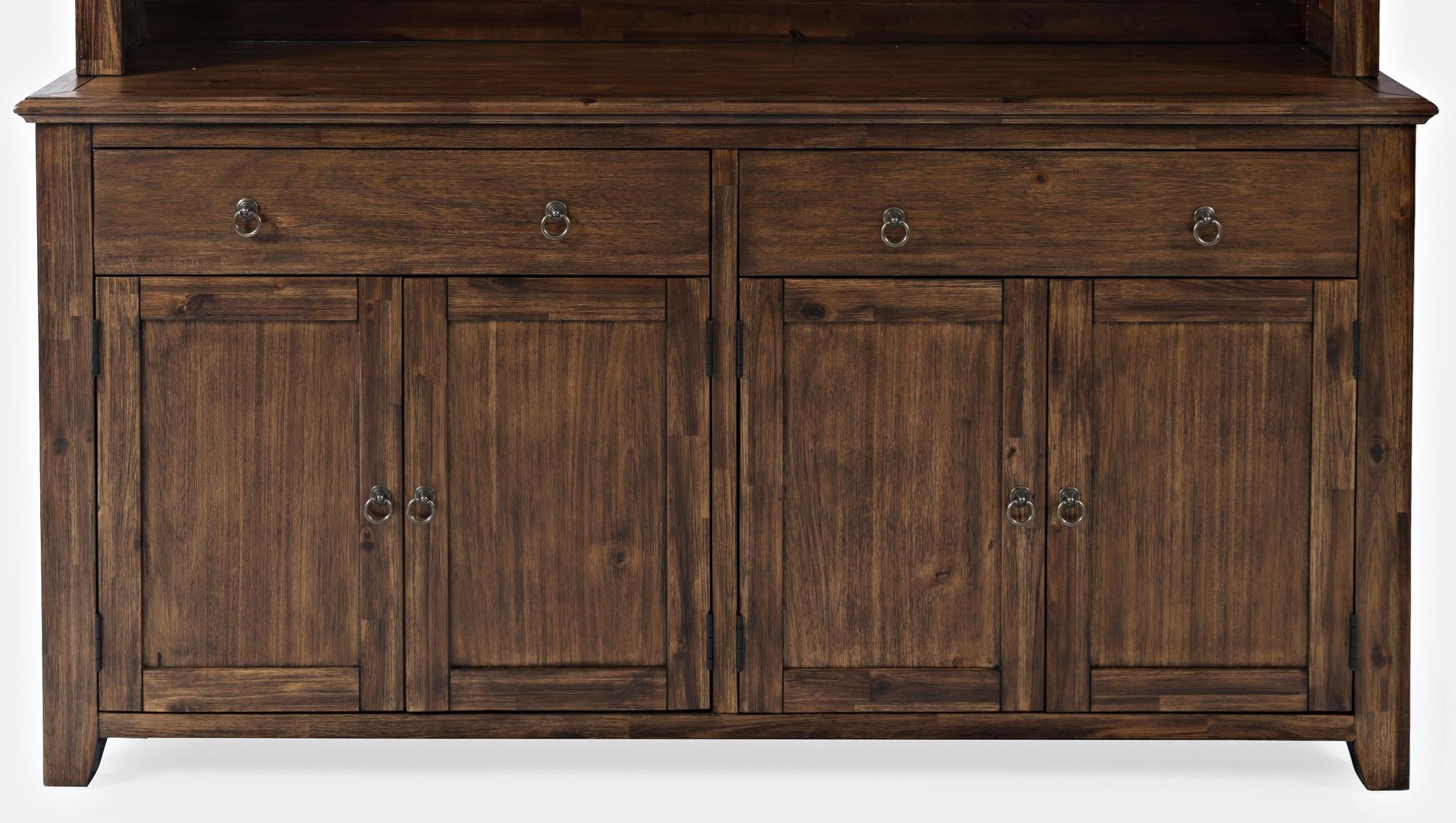 Bakersfield Two Drawer Server by Jofran at Lapeer Furniture & Mattress Center