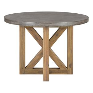 Jofran Boulder Ridge Concrete Dining Table- Round
