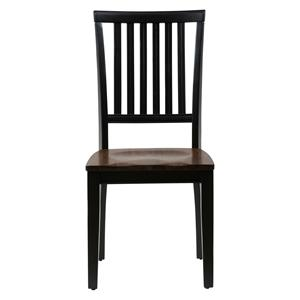 Jofran Braden Birch Slat Back Side Chair