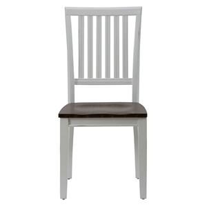 Slat Back Dining Room Table Side Chair